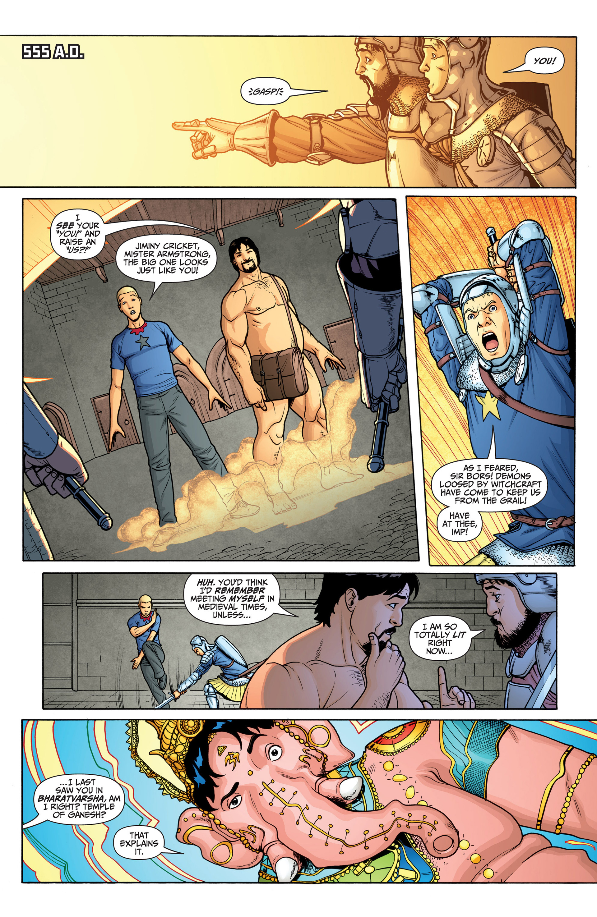Read online Archer and Armstrong comic -  Issue #23 - 13