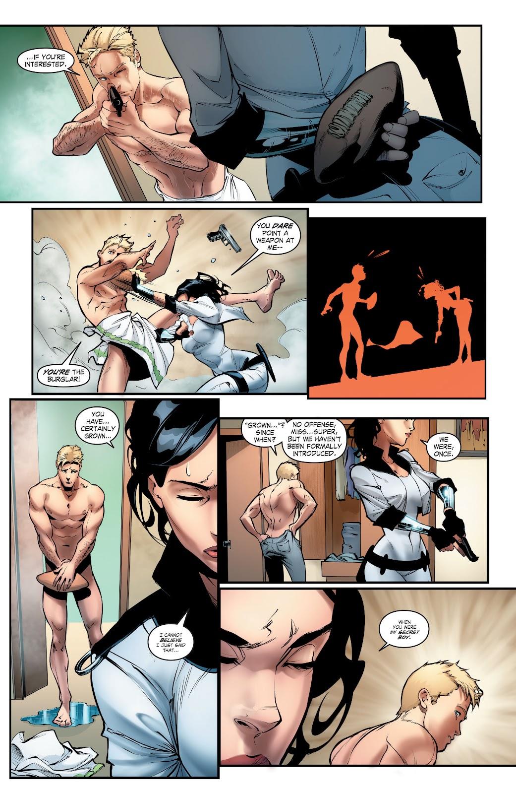 Read online Smallville Season 11 [II] comic -  Issue # TPB 5 - 56