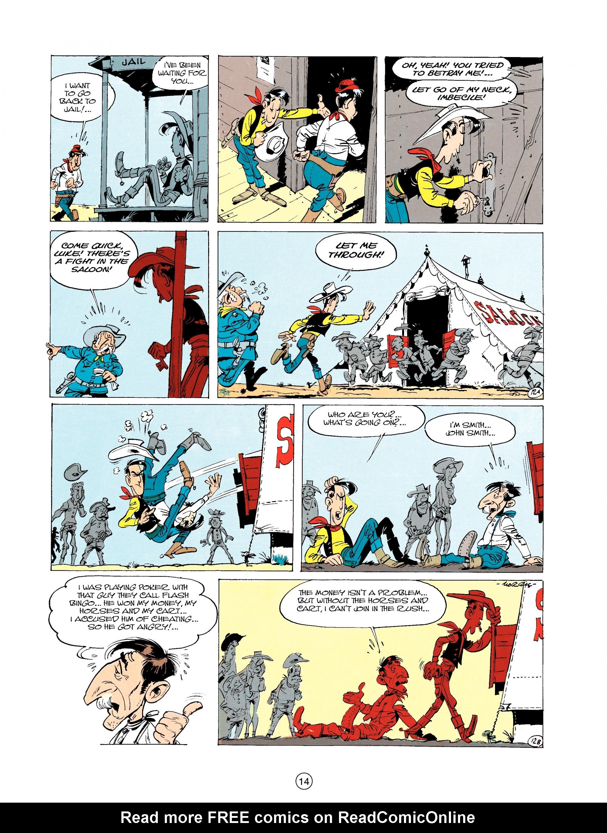 Read online A Lucky Luke Adventure comic -  Issue #20 - 14