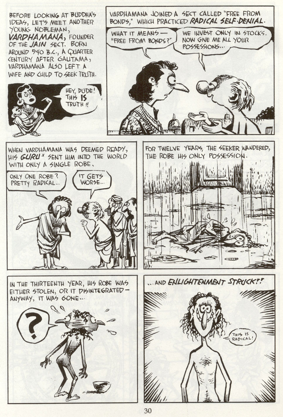 Read online The Cartoon History of the Universe comic -  Issue #8 - 33
