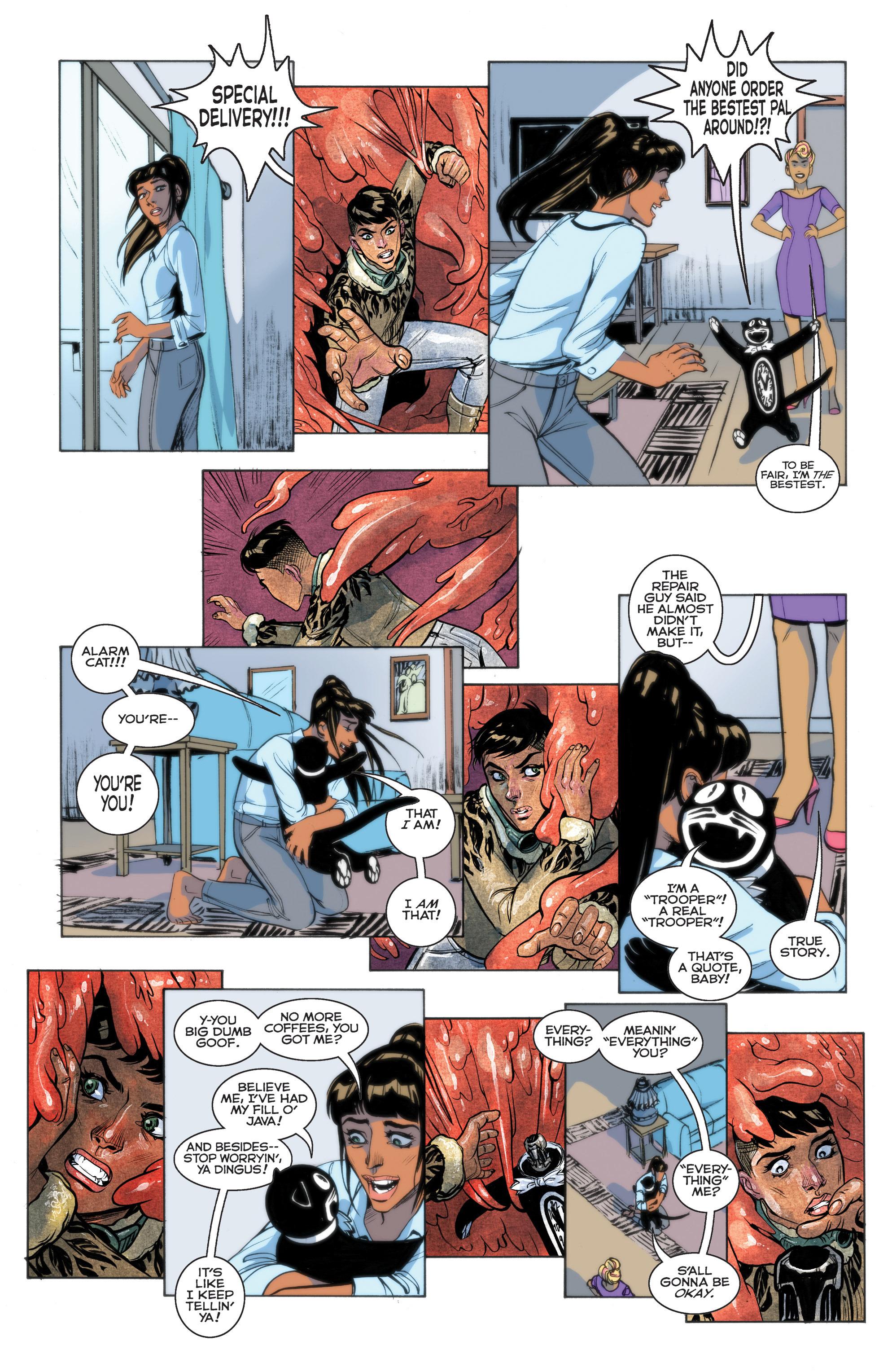 Read online Shutter comic -  Issue #28 - 11