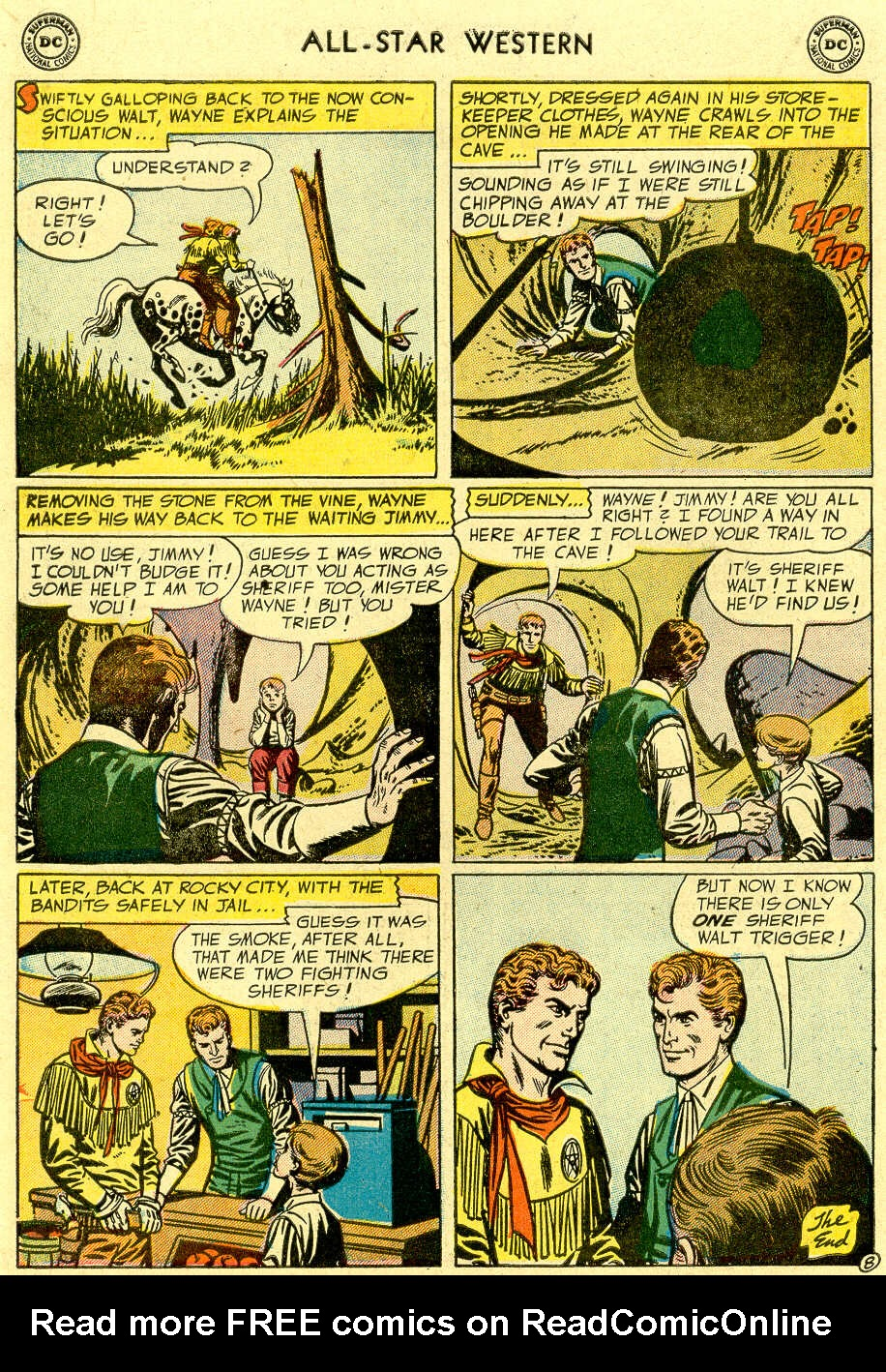 Read online All-Star Western (1951) comic -  Issue #83 - 10