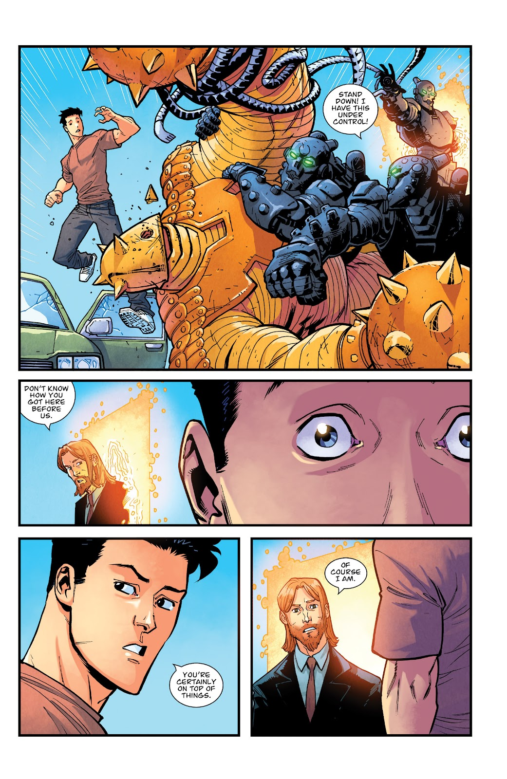 Invincible (2003) issue TPB 21 - Modern Family - Page 49