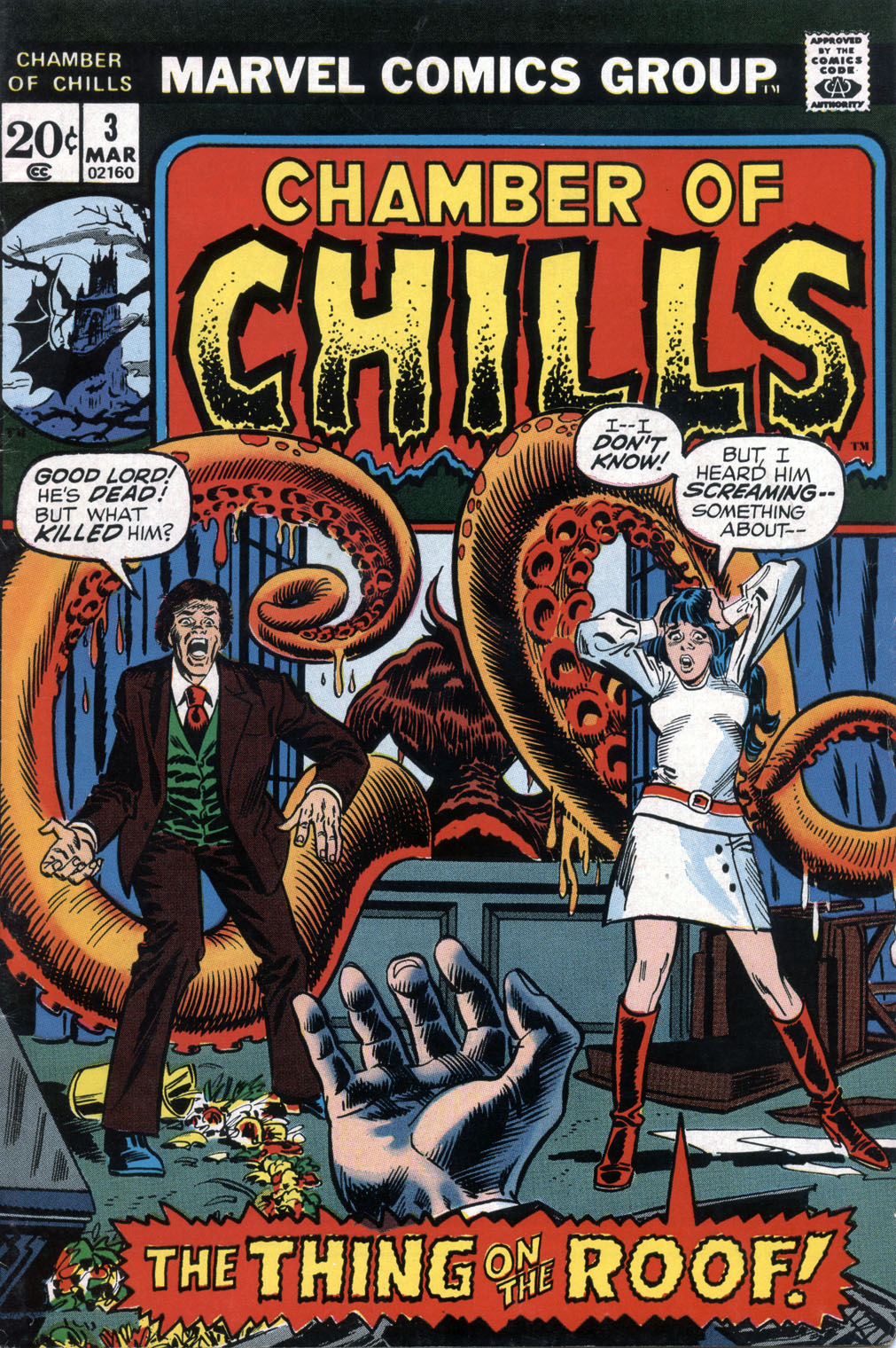 Chamber of Chills (1972) issue 3 - Page 1