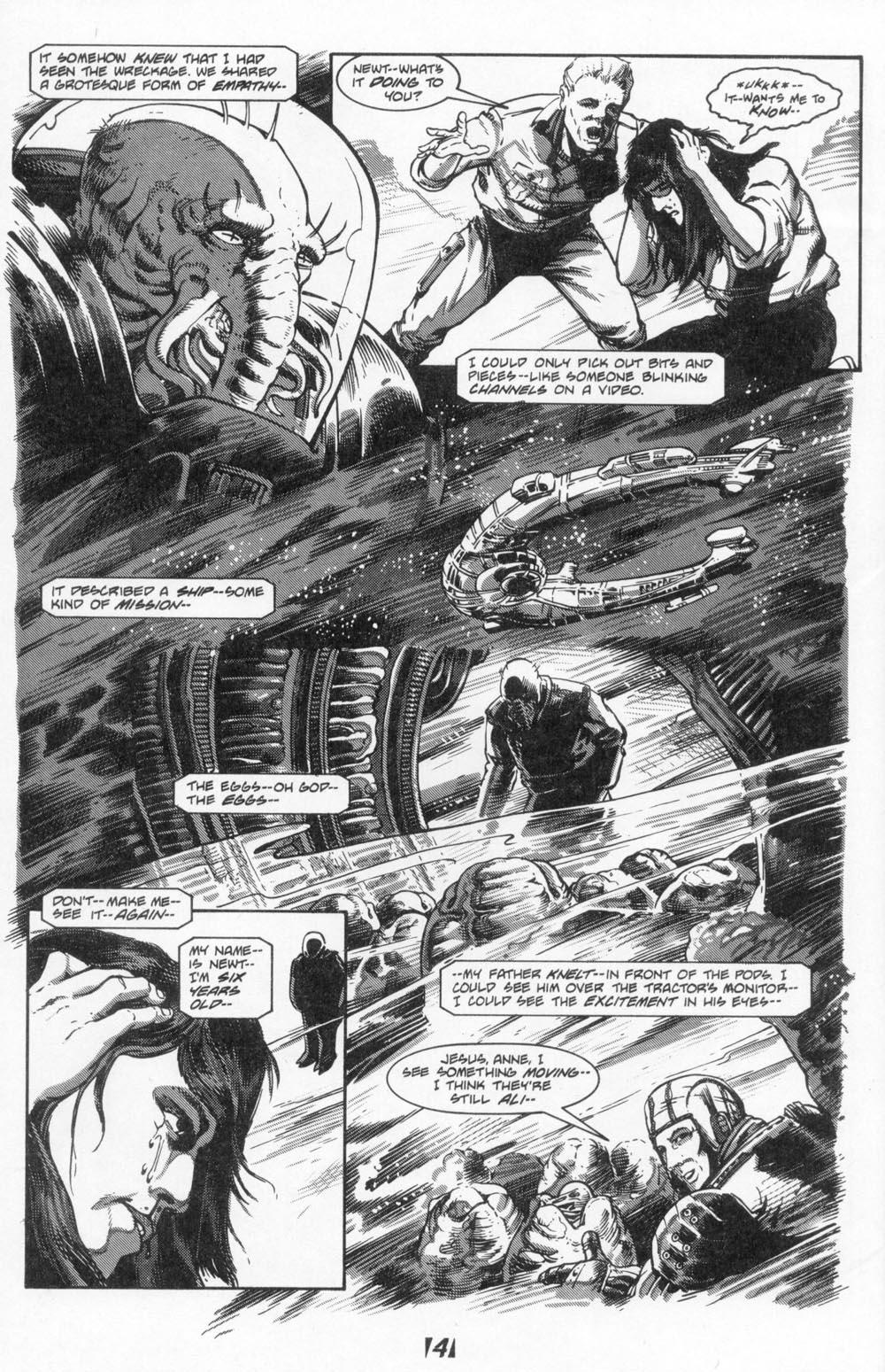Read online Aliens (1988) comic -  Issue #6 - 6