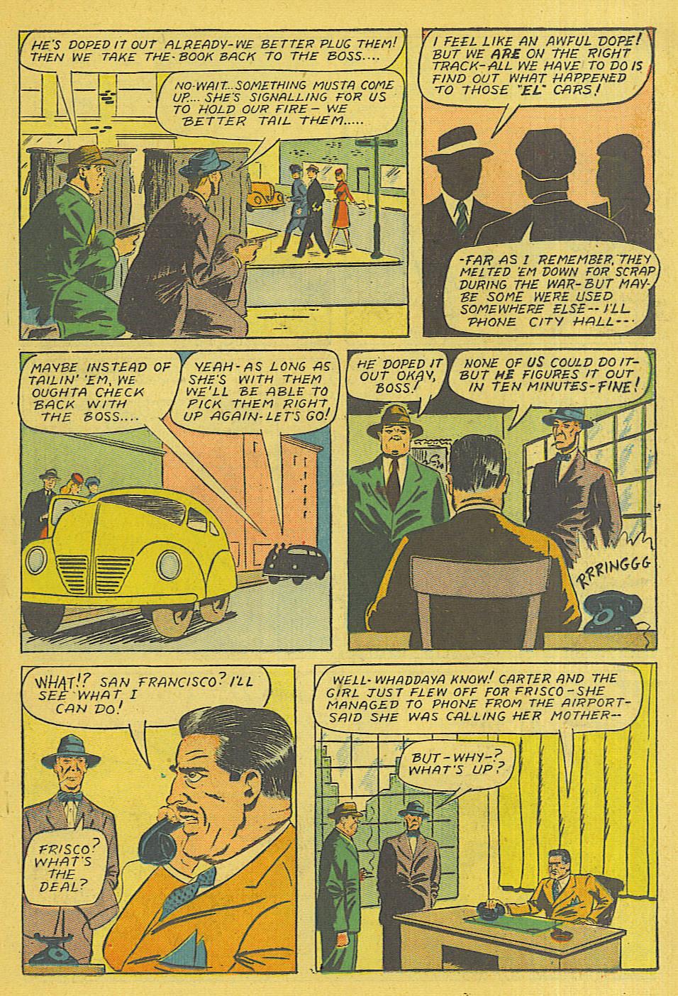 Read online Shadow Comics comic -  Issue #71 - 20