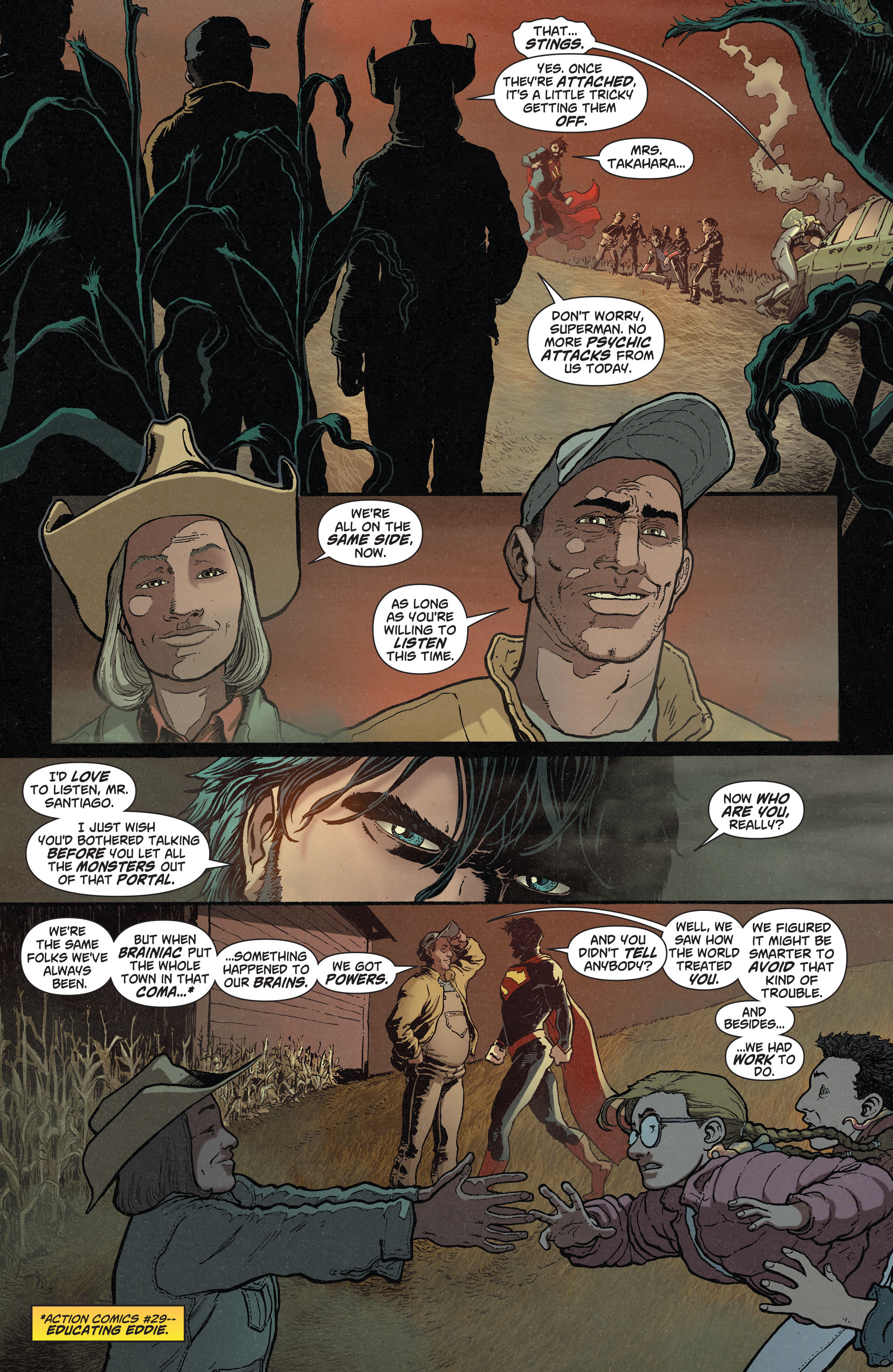 Read online Action Comics (2011) comic -  Issue #38 - 19