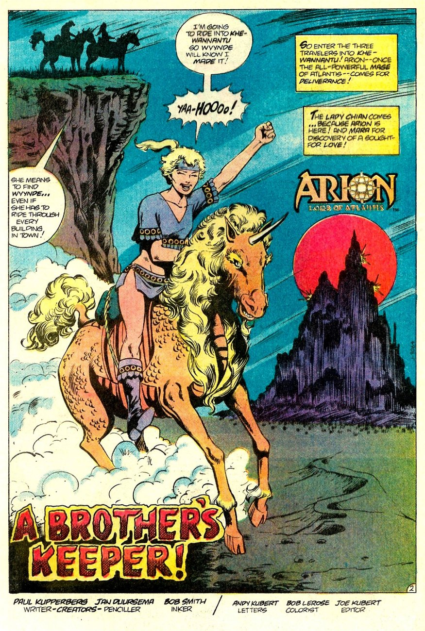 Read online Arion, Lord of Atlantis comic -  Issue #17 - 3