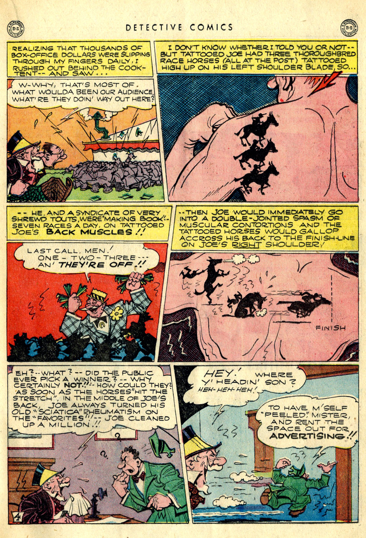 Read online Detective Comics (1937) comic -  Issue #90 - 31
