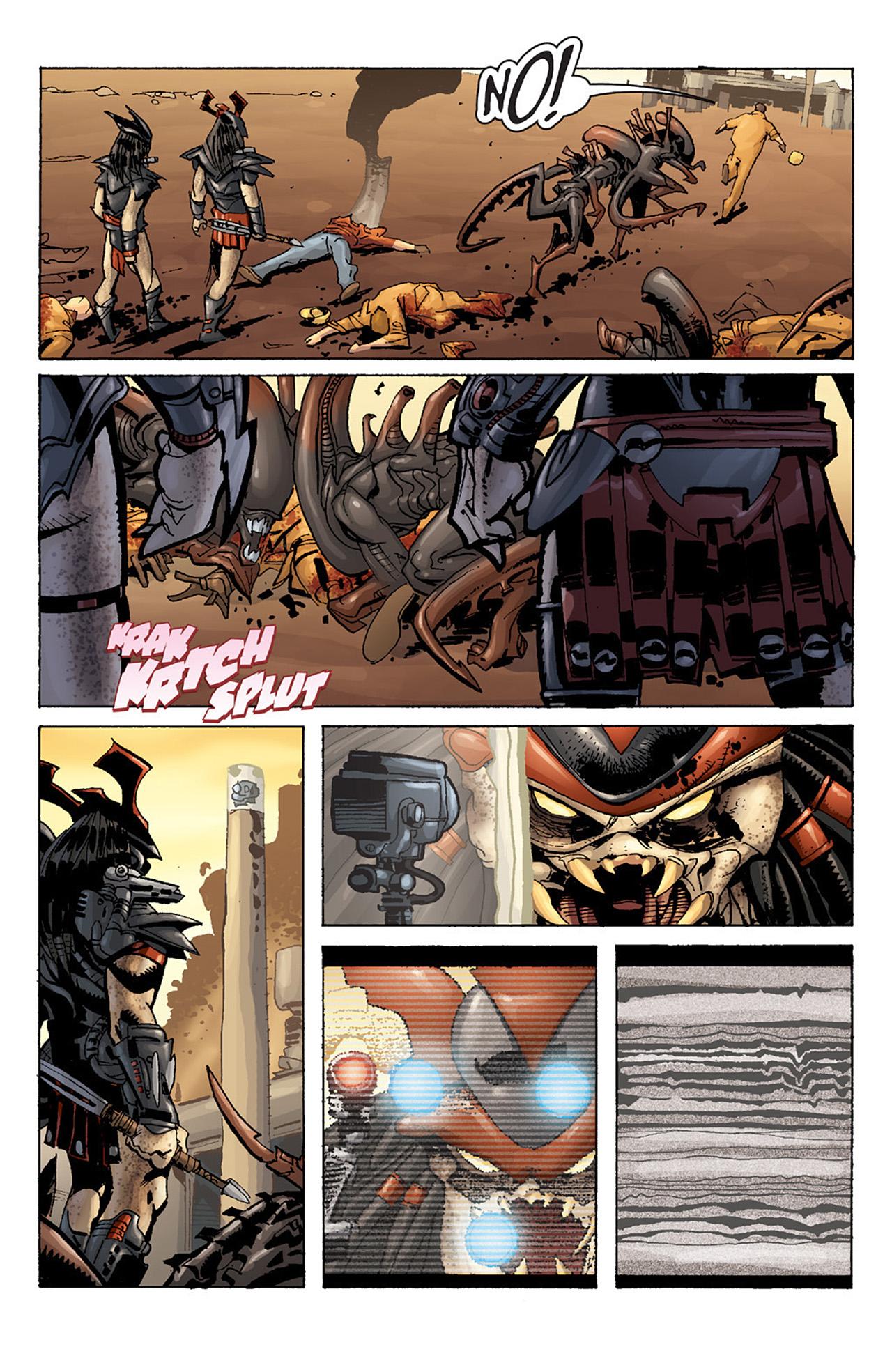 Read online Aliens vs. Predator: Three World War comic -  Issue #1 - 12