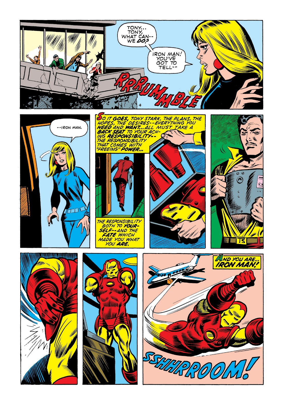 Read online Marvel Masterworks: The Invincible Iron Man comic -  Issue # TPB 8 (Part 1) - 53
