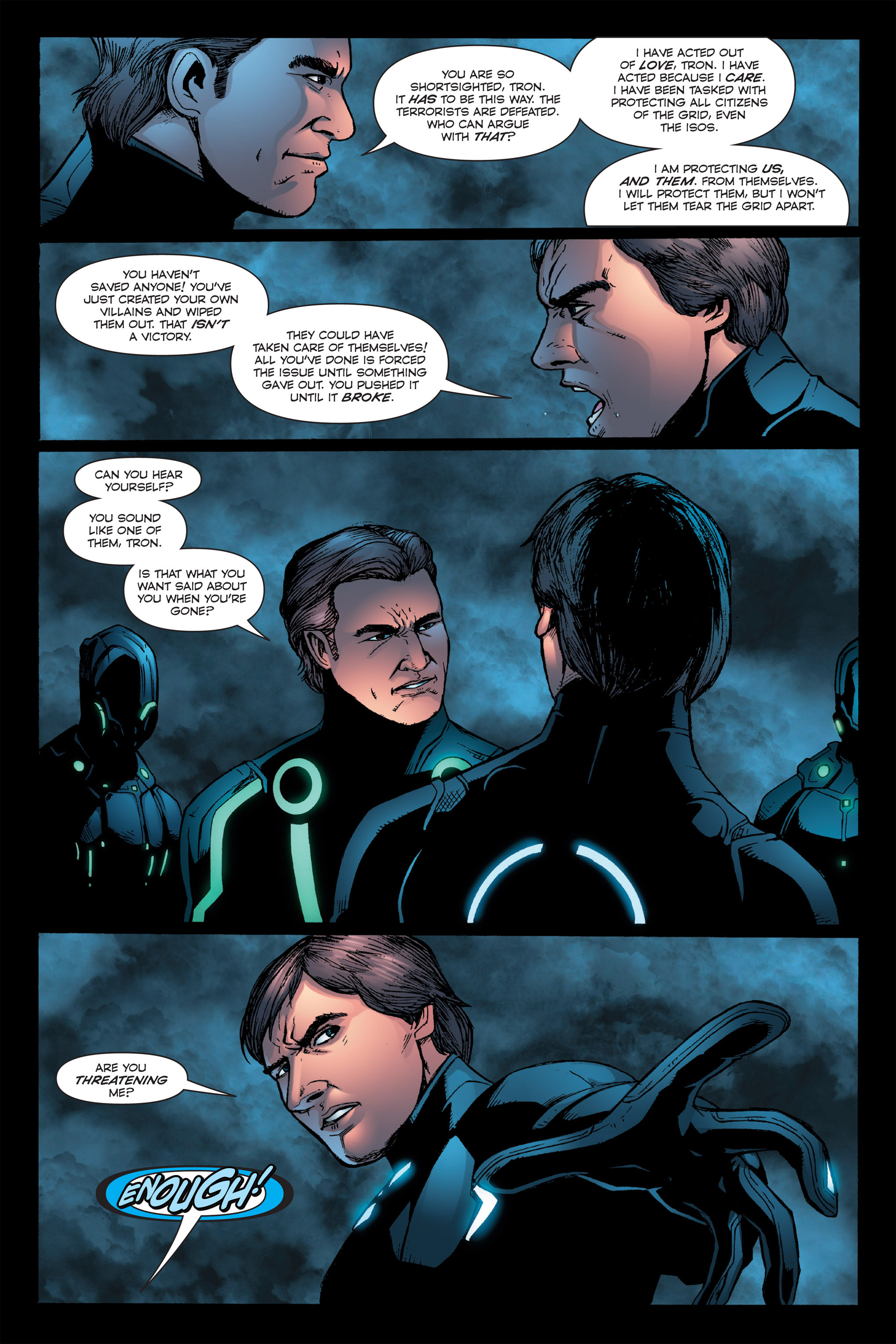 Read online TRON: Betrayal comic -  Issue # TPB - 103