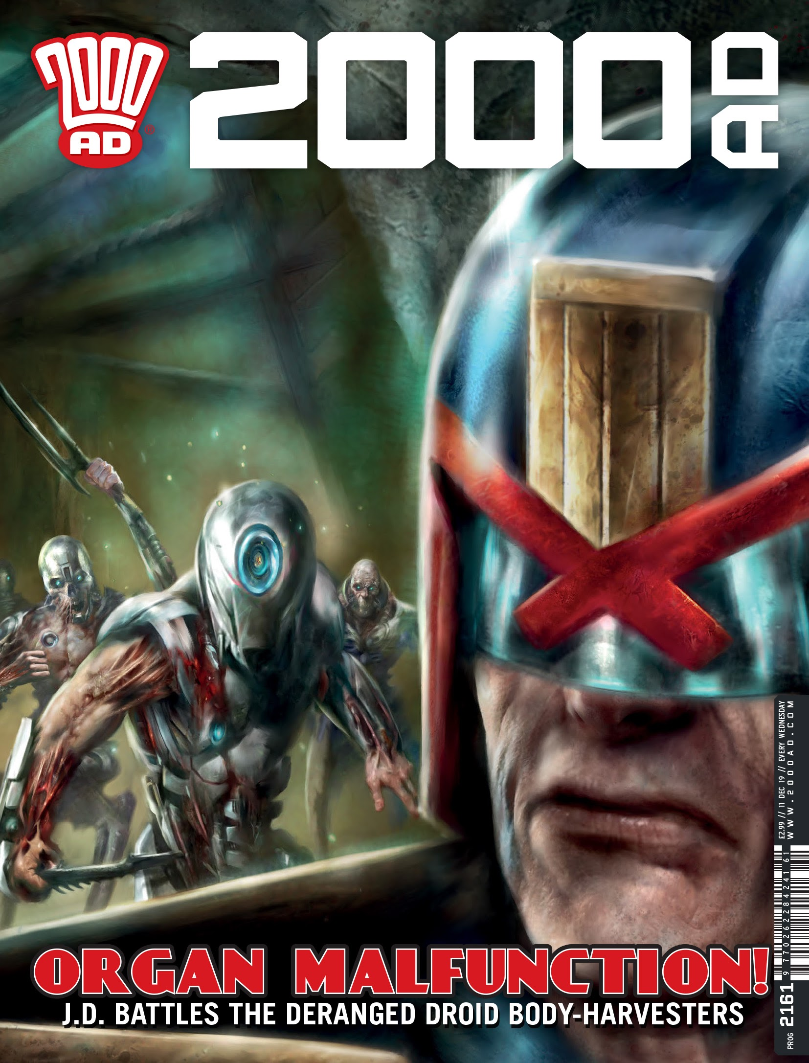 2000 AD 2161 Page 1
