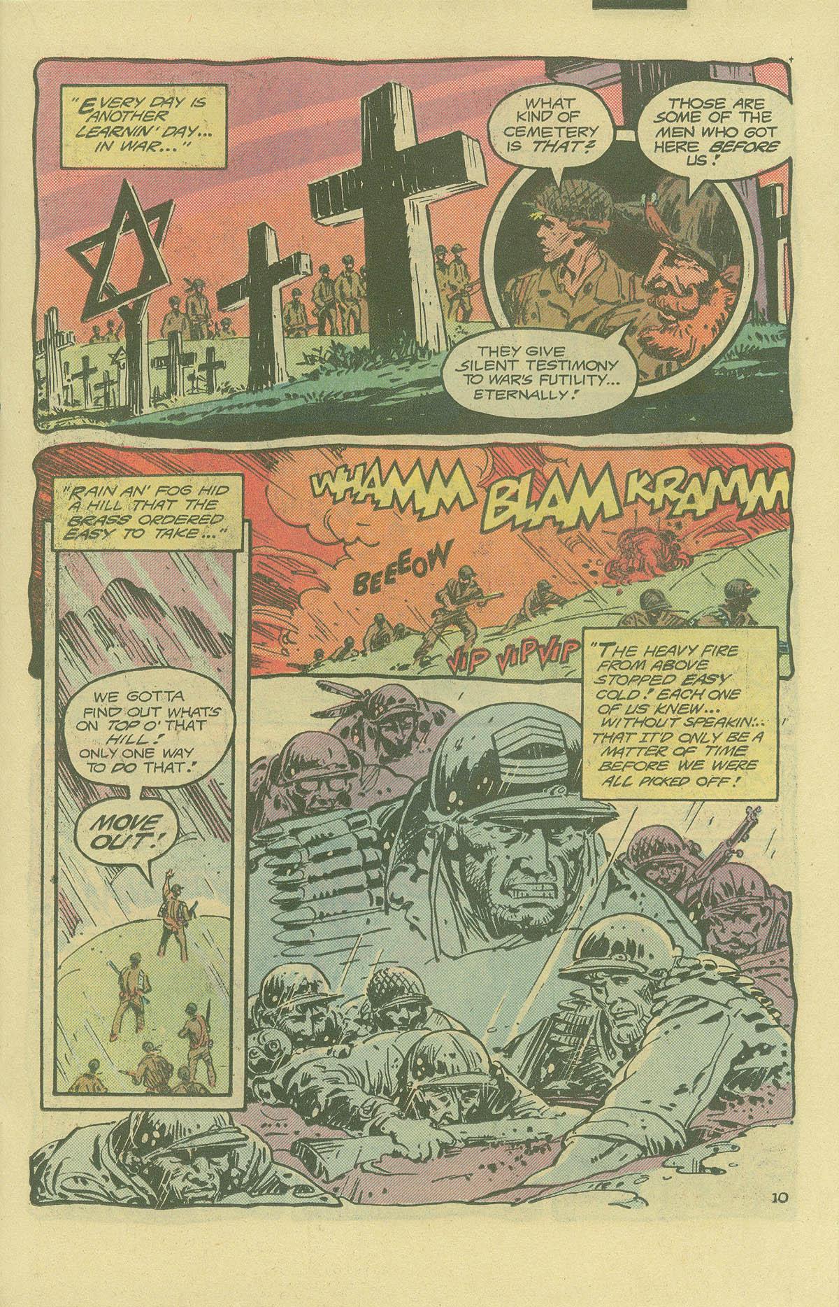 Read online Sgt. Rock comic -  Issue #402 - 14