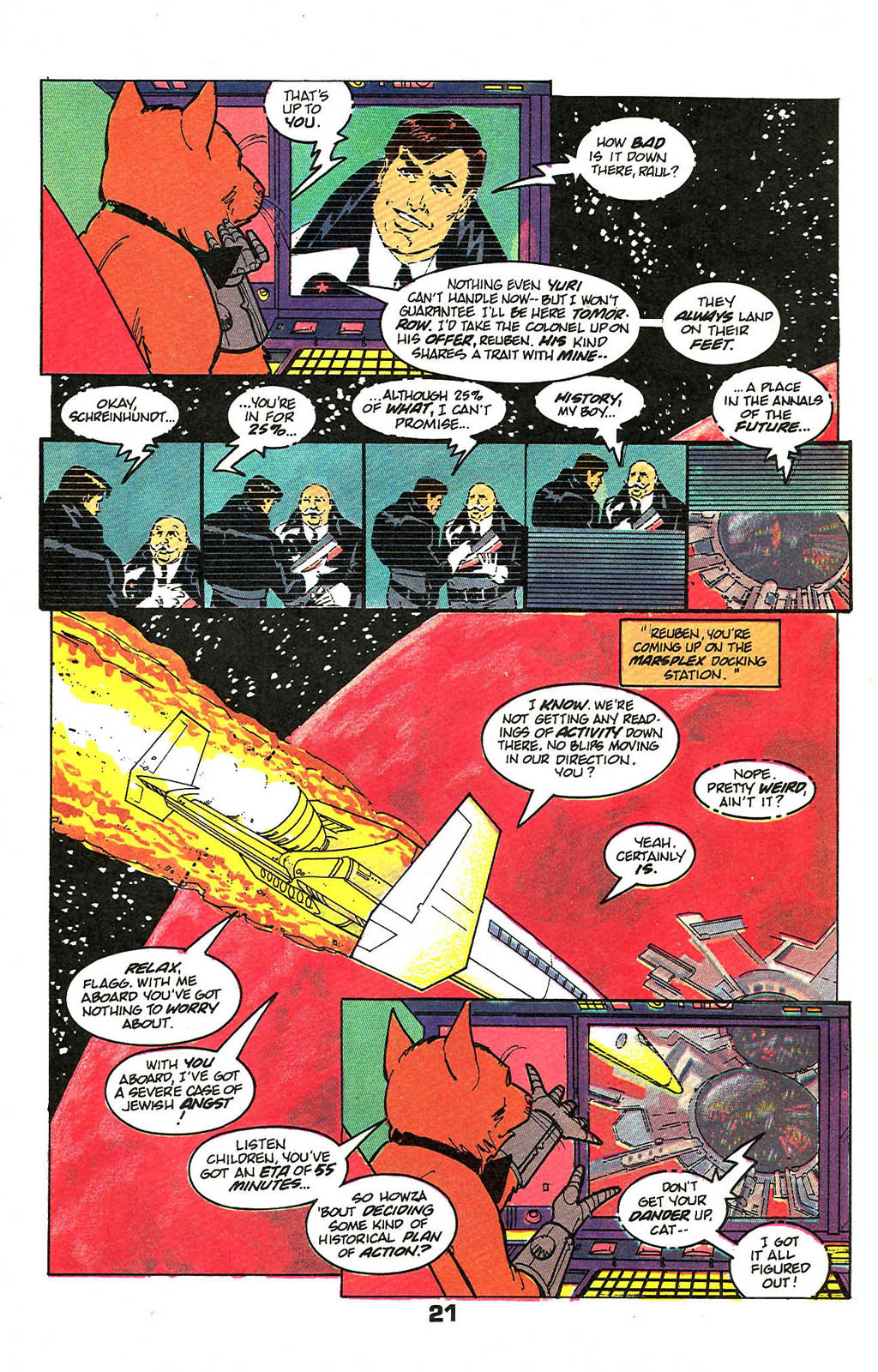 Read online American Flagg! comic -  Issue #49 - 27