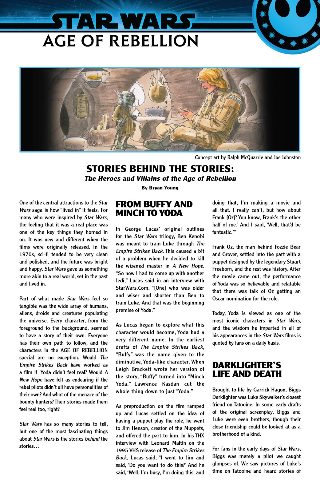 Read online Star Wars: Age of Rebellion - Heroes comic -  Issue # TPB - 115