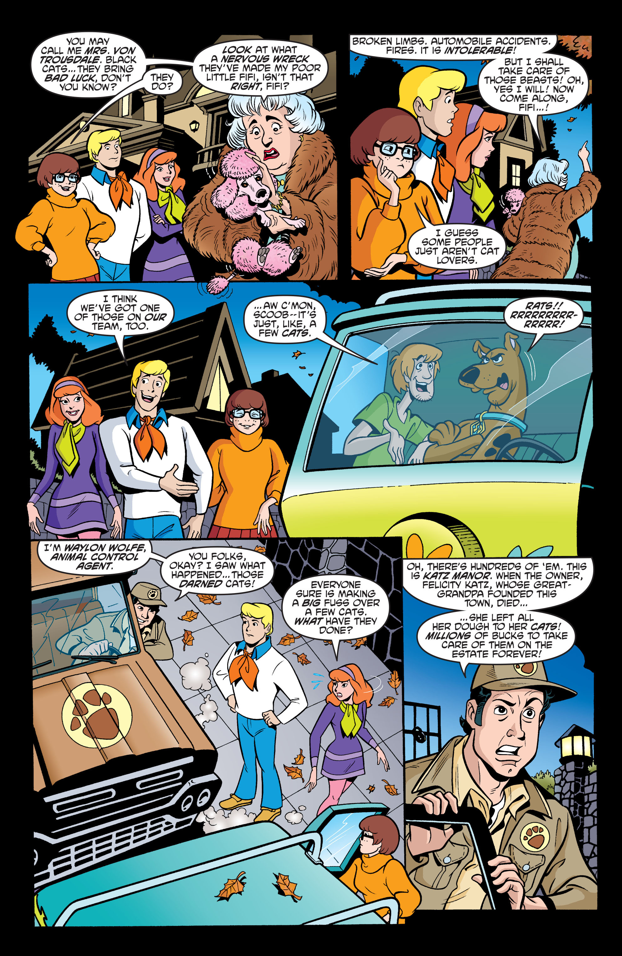 Read online Scooby-Doo: Where Are You? comic -  Issue #63 - 14