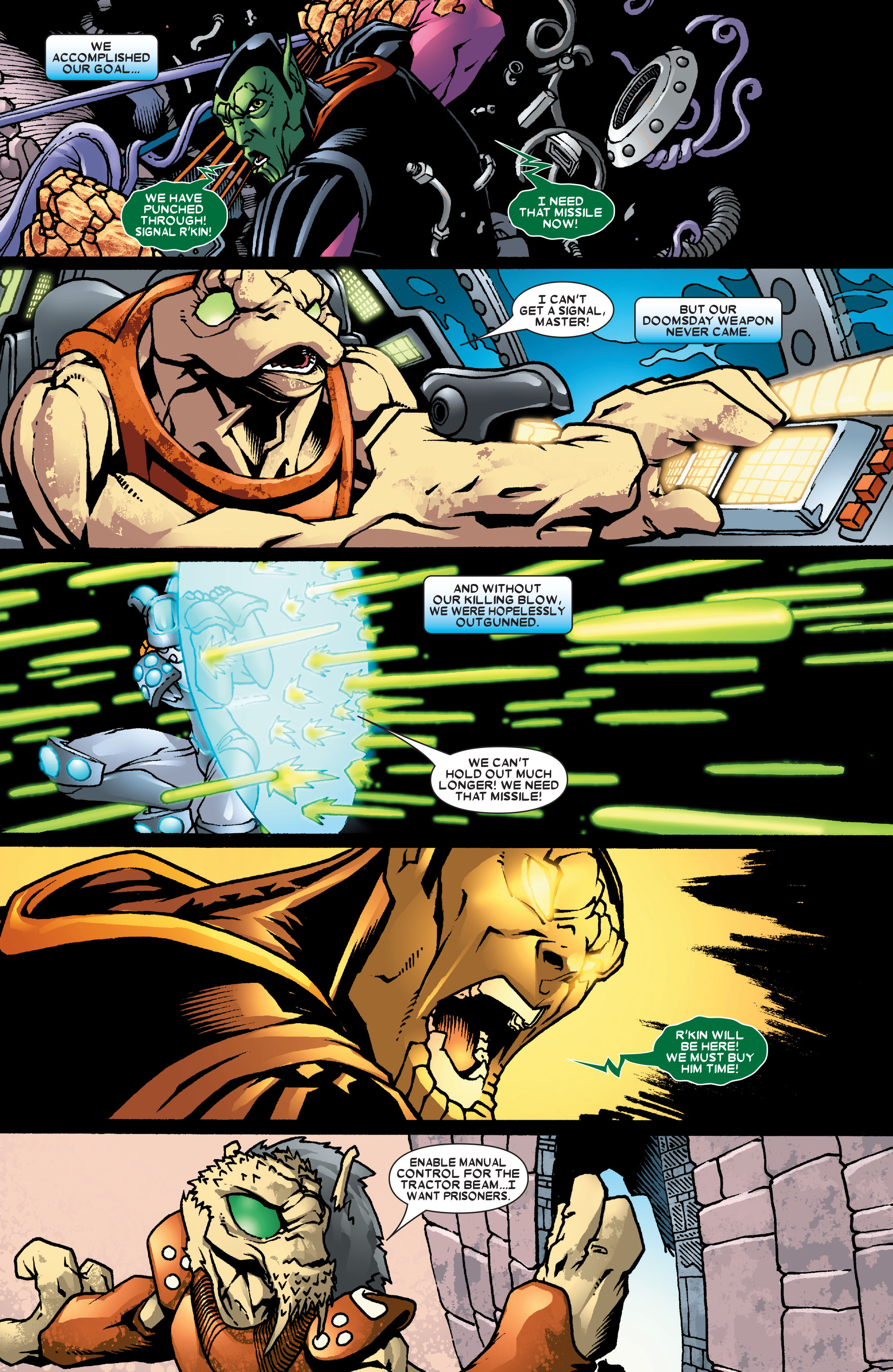 Read online Annihilation: Super-Skrull comic -  Issue #3 - 22