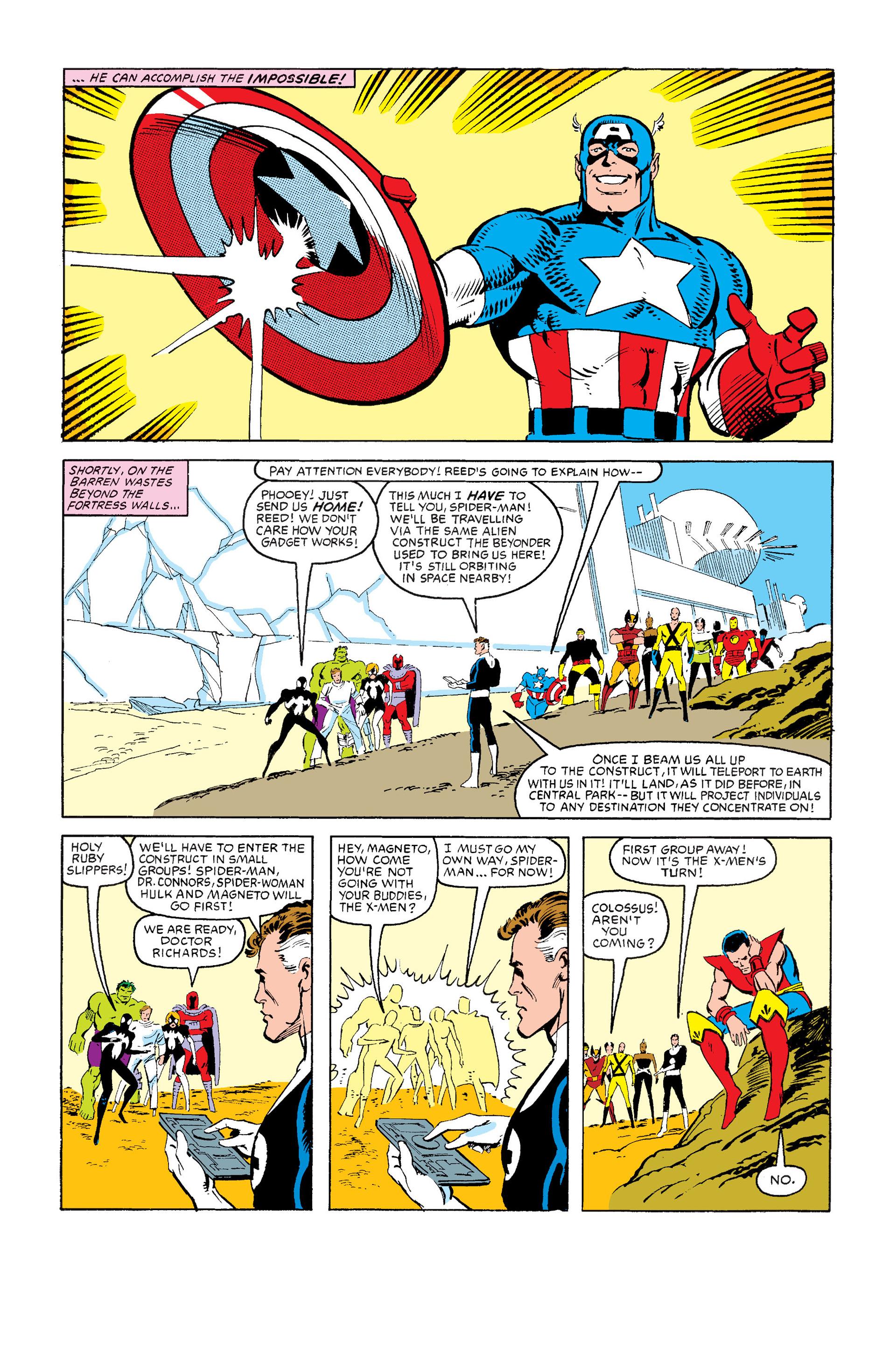 Read online Secret Wars (1985) comic -  Issue #12 - 40