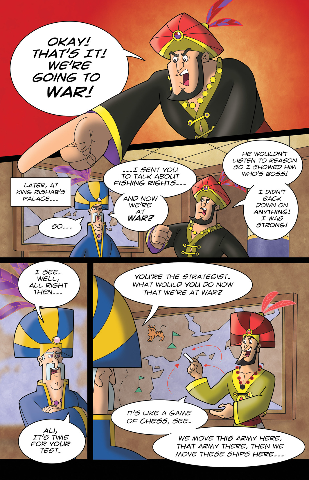 Read online 1001 Nights comic -  Issue #7 - 10