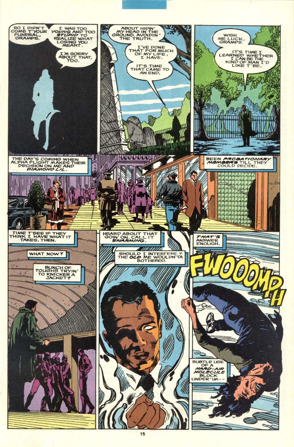 Read online Alpha Flight (1983) comic -  Issue #95 - 12