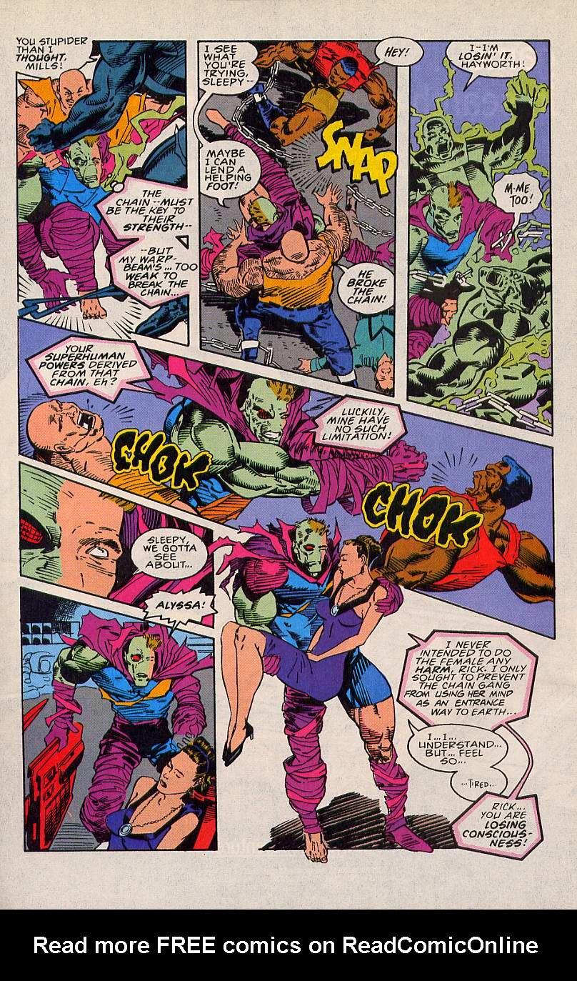 Read online Sleepwalker comic -  Issue #20 - 21