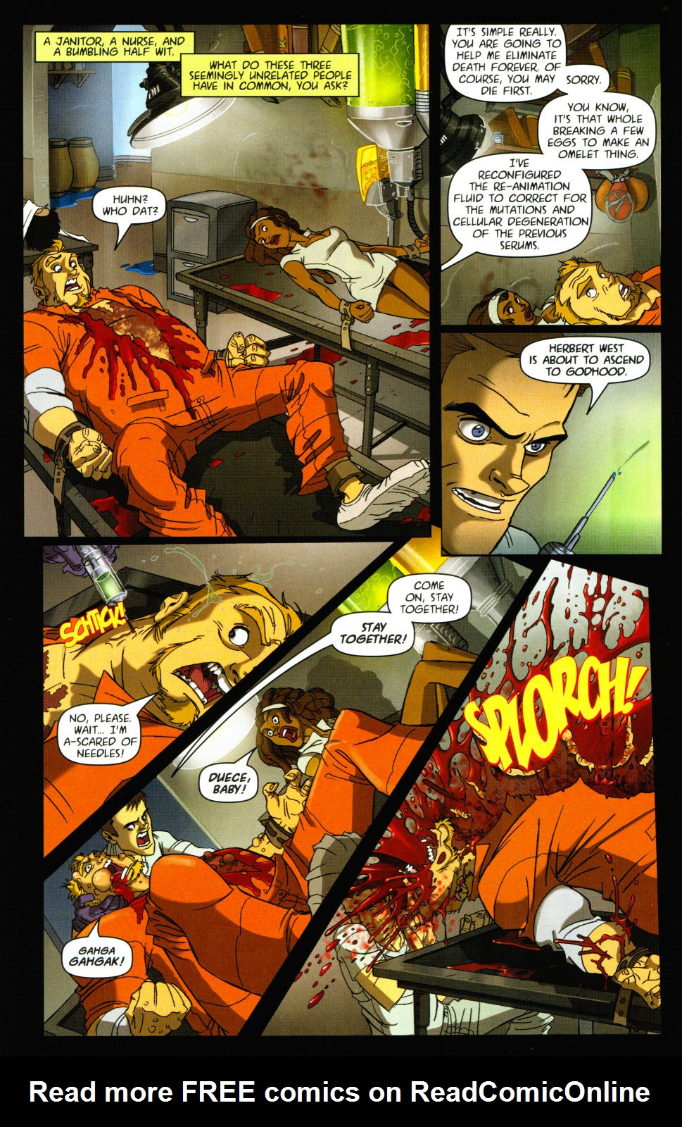 Read online Army of Darkness vs. Re-Animator comic -  Issue #3 - 14