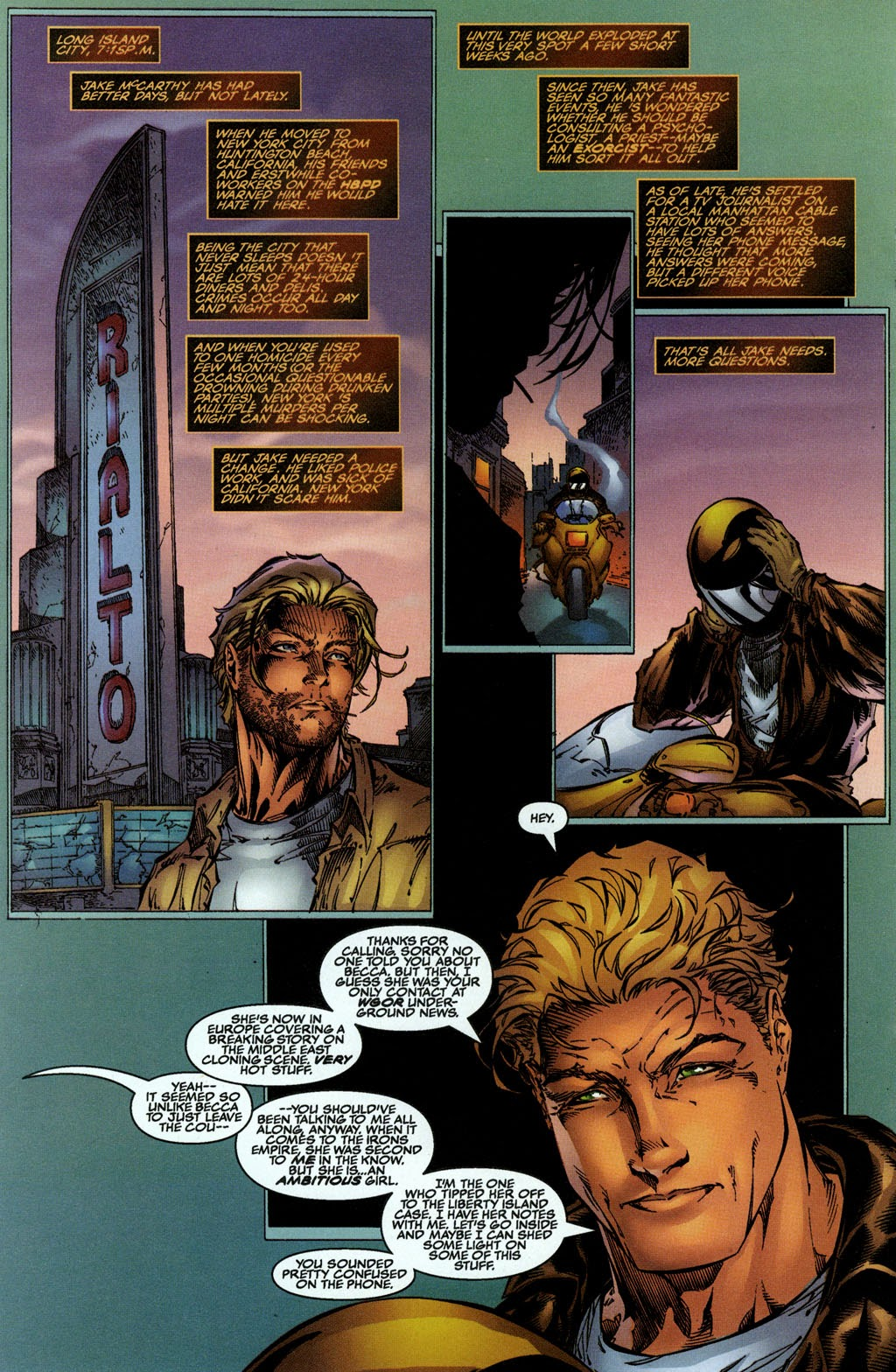 Read online The Darkness (1996) comic -  Issue #0 - 14