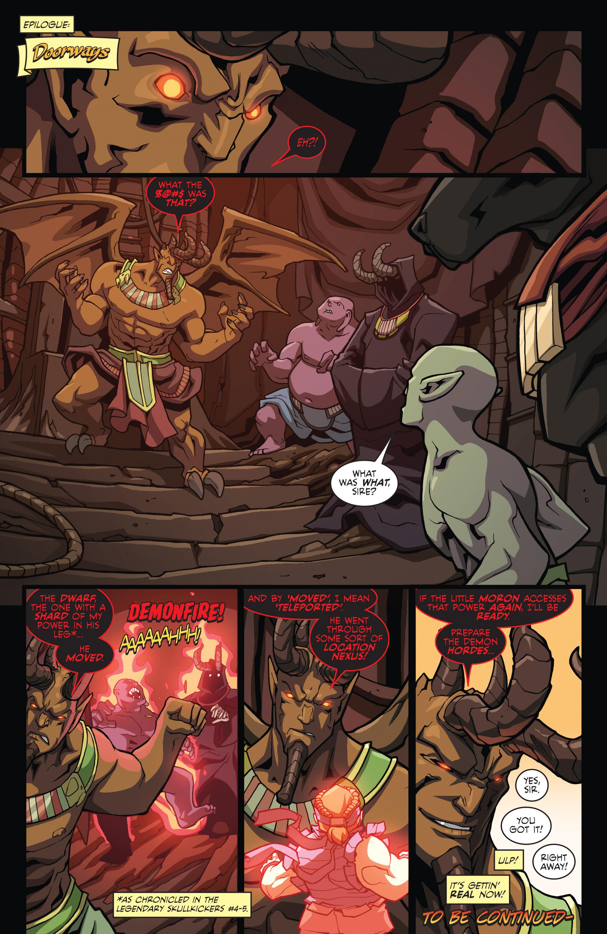 Read online Skullkickers comic -  Issue #23 - 22