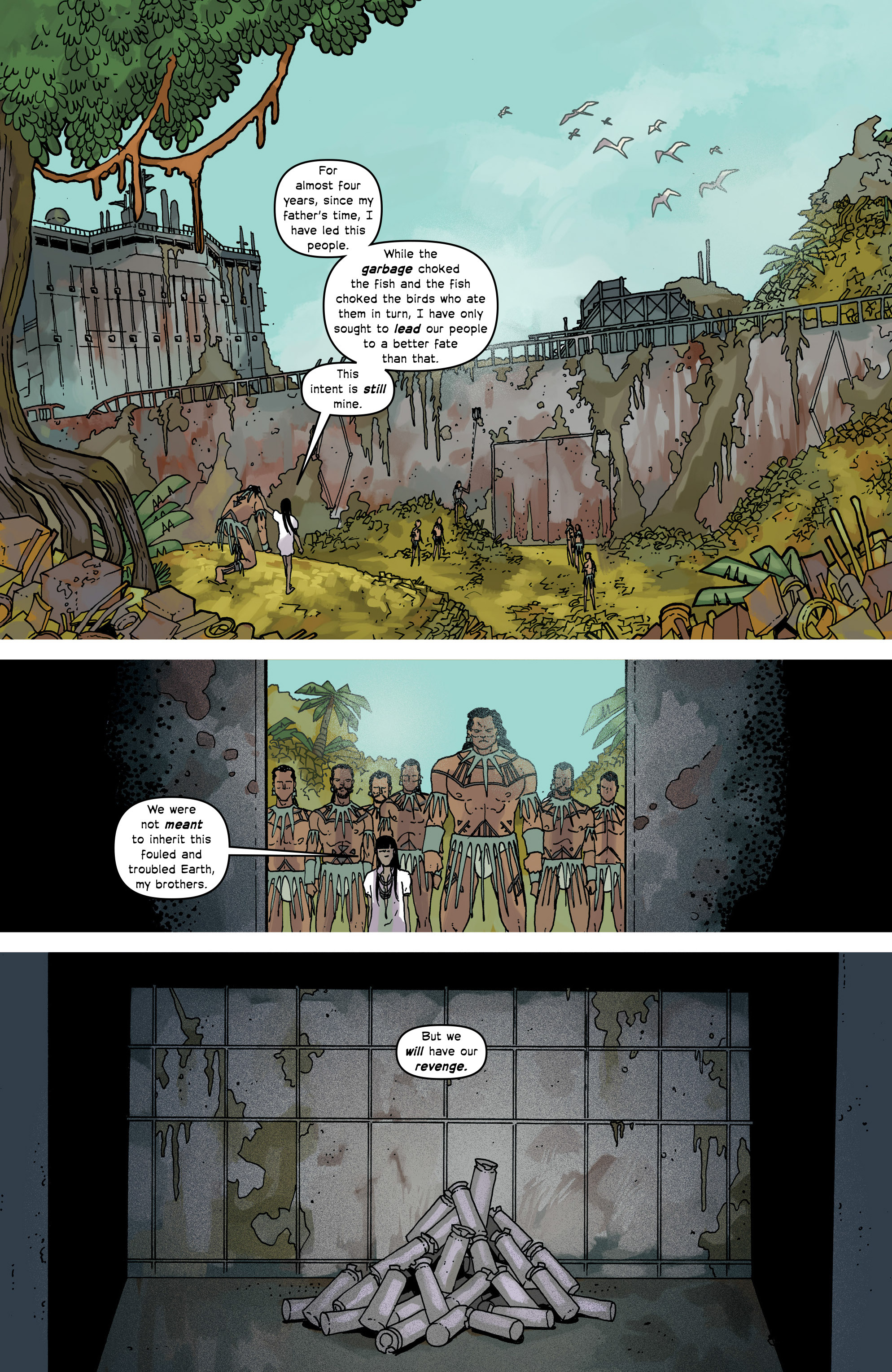 Read online Great Pacific comic -  Issue #16 - 20