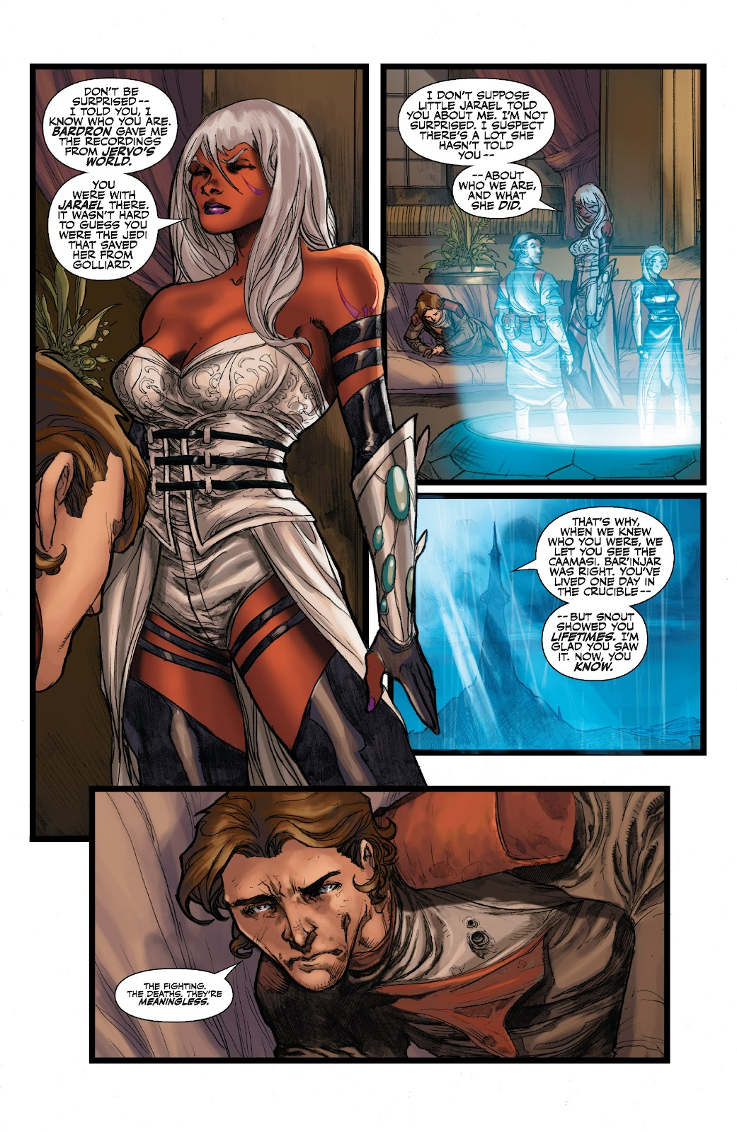 Read online Star Wars Legends: The Old Republic - Epic Collection comic -  Issue # TPB 3 (Part 2) - 86