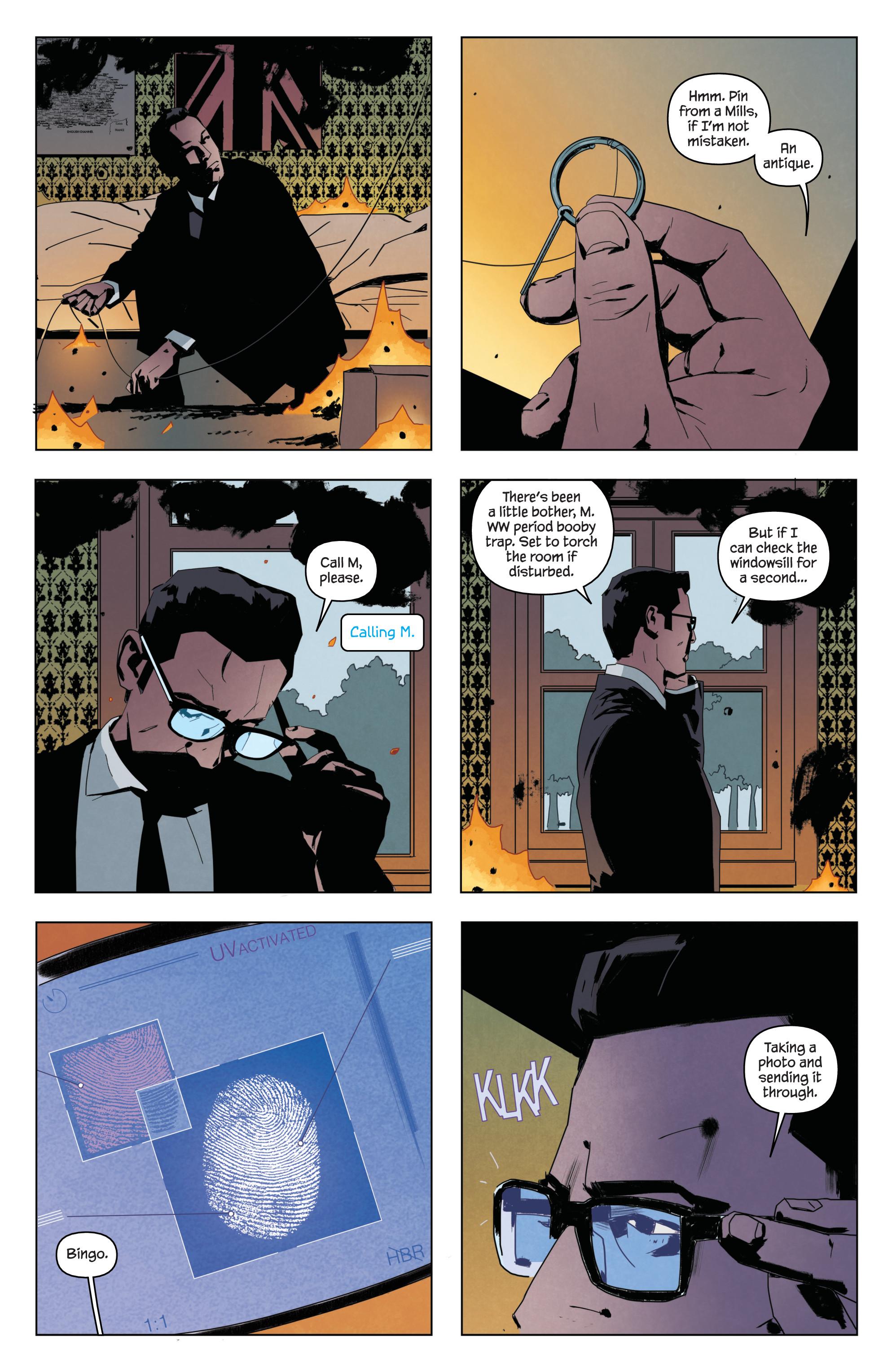 Read online James Bond: Service comic -  Issue # Full - 14