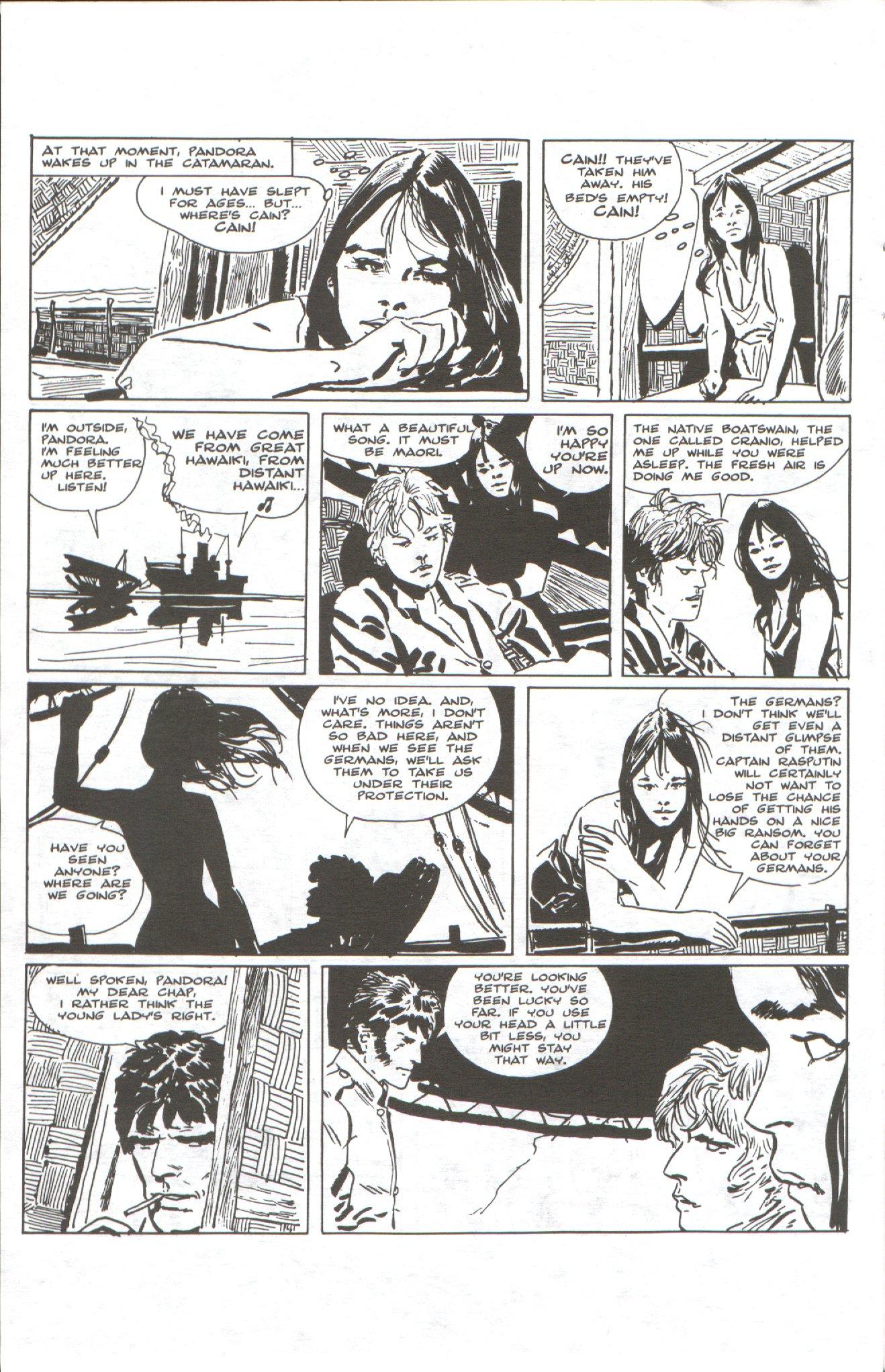 Read online Corto Maltese: Ballad of the Salt Sea comic -  Issue #1 - 18