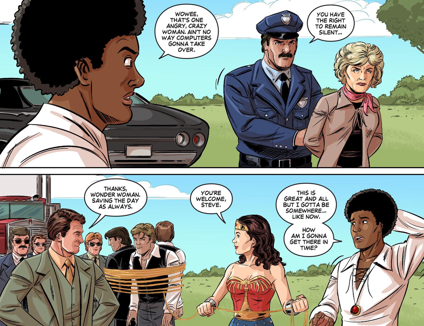 Read online Wonder Woman '77 [I] comic -  Issue #24 - 16