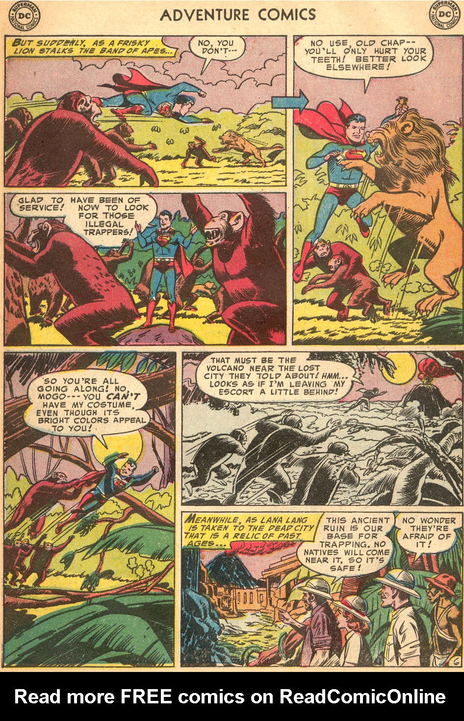 Read online Adventure Comics (1938) comic -  Issue #200 - 8