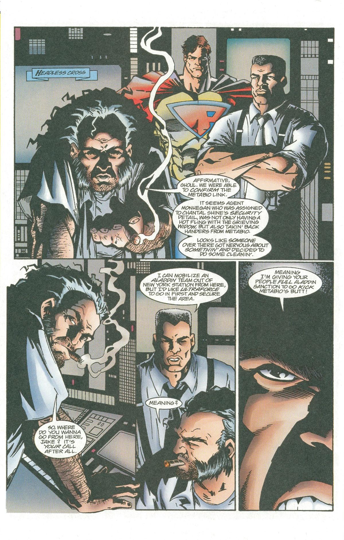 Read online UltraForce (1995) comic -  Issue #7 - 15