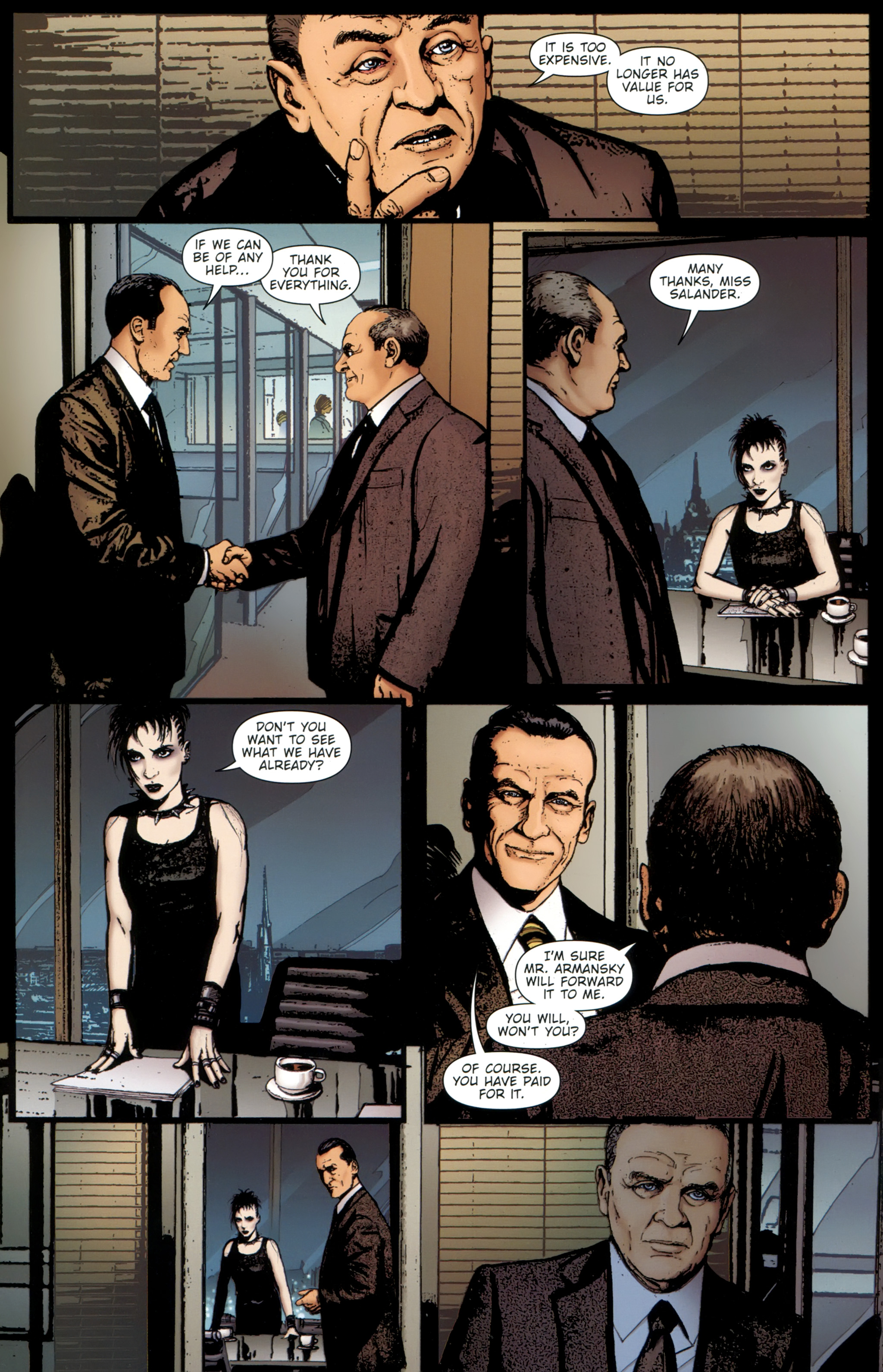 Read online The Girl With the Dragon Tattoo comic -  Issue # TPB 1 - 79