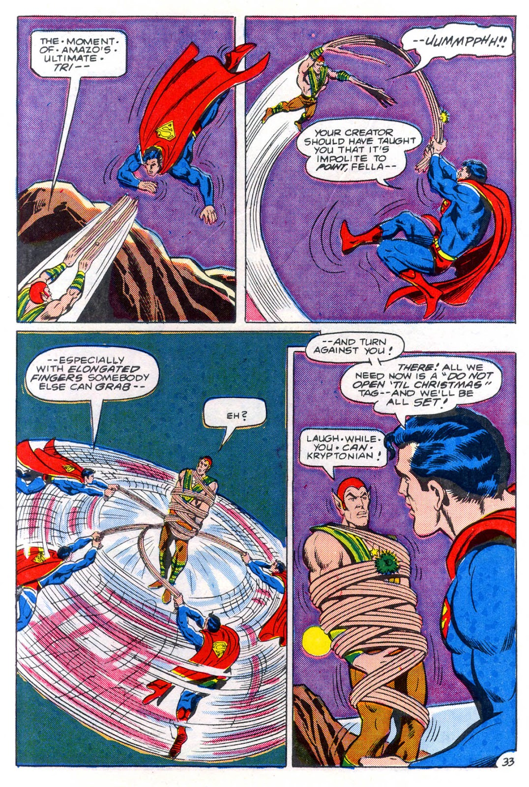 Read online Superman Special (1983) comic -  Issue #3 - 34