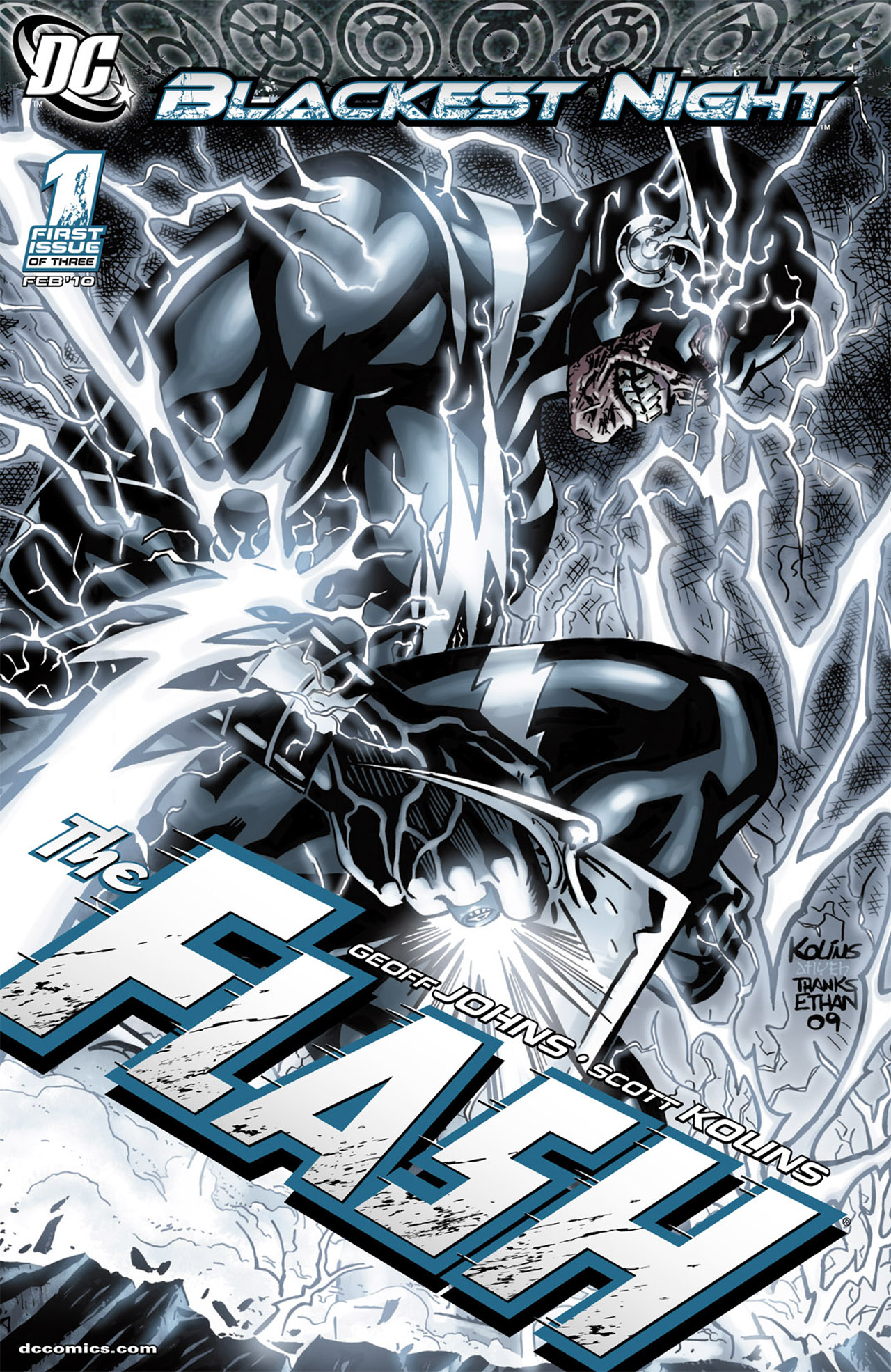 Blackest Night: The Flash 1 Page 1