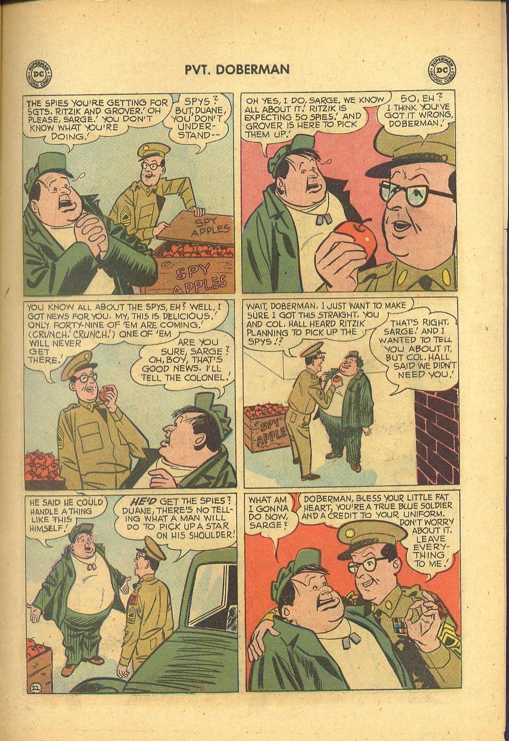 Sgt. Bilko's Pvt. Doberman issue 1 - Page 27
