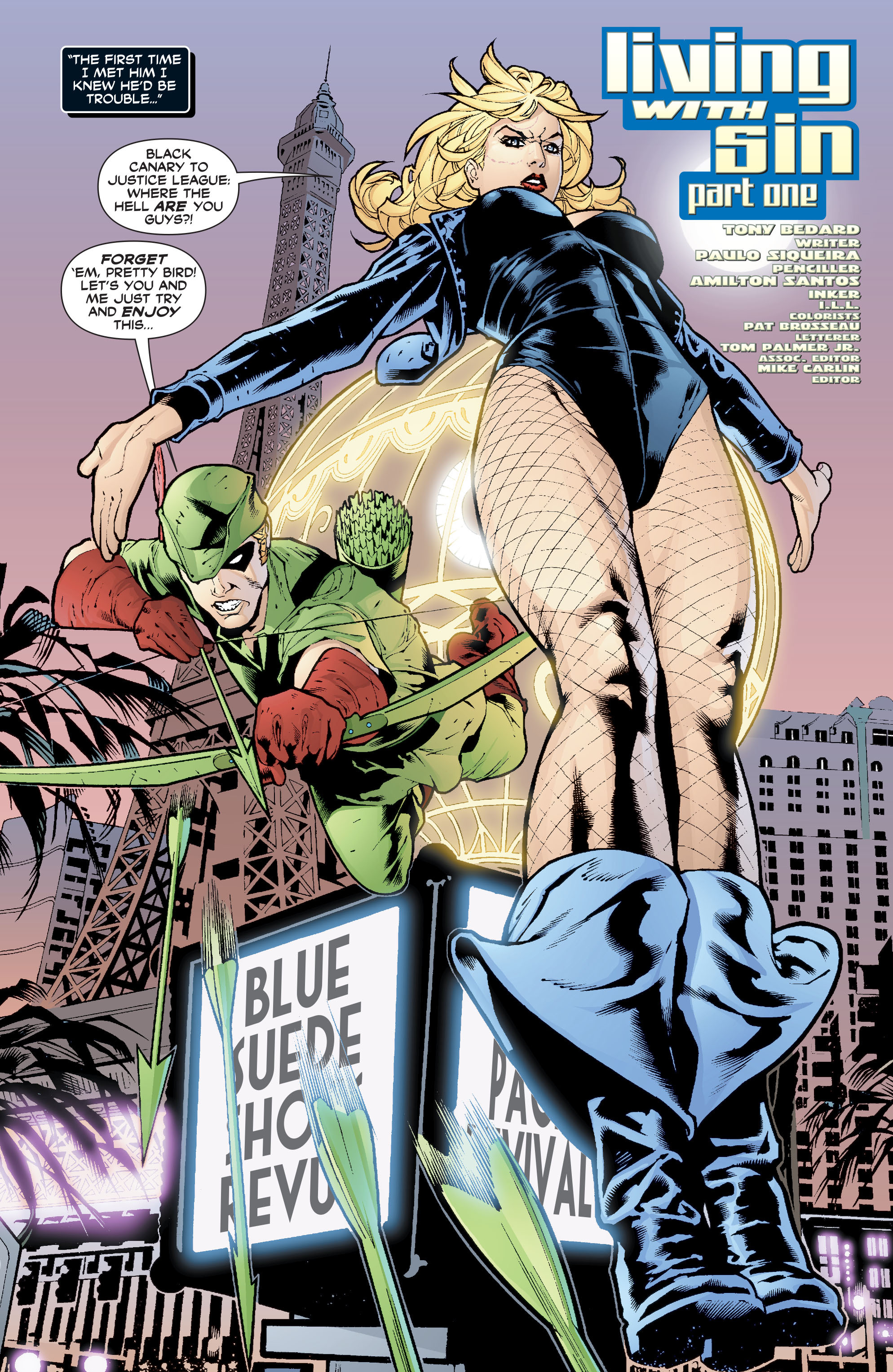 Read online Black Canary (2007) comic -  Issue #1 - 2