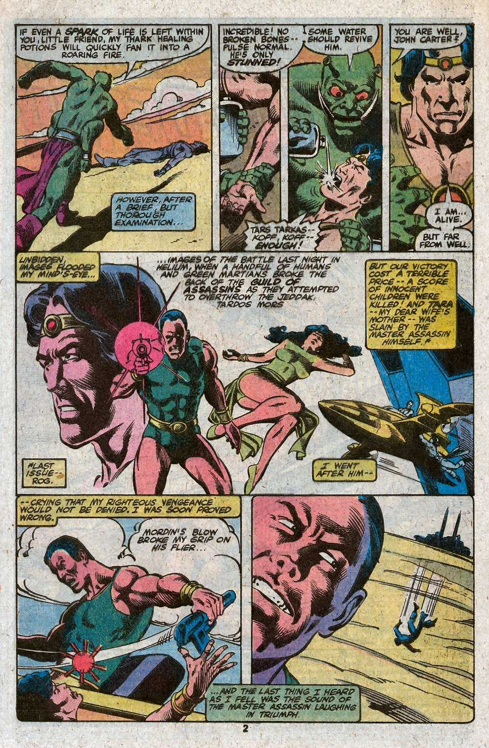 John Carter Warlord of Mars issue 27 - Page 4