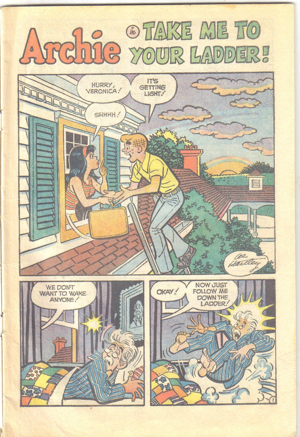 Archie's Love Scene issue Full - Page 3