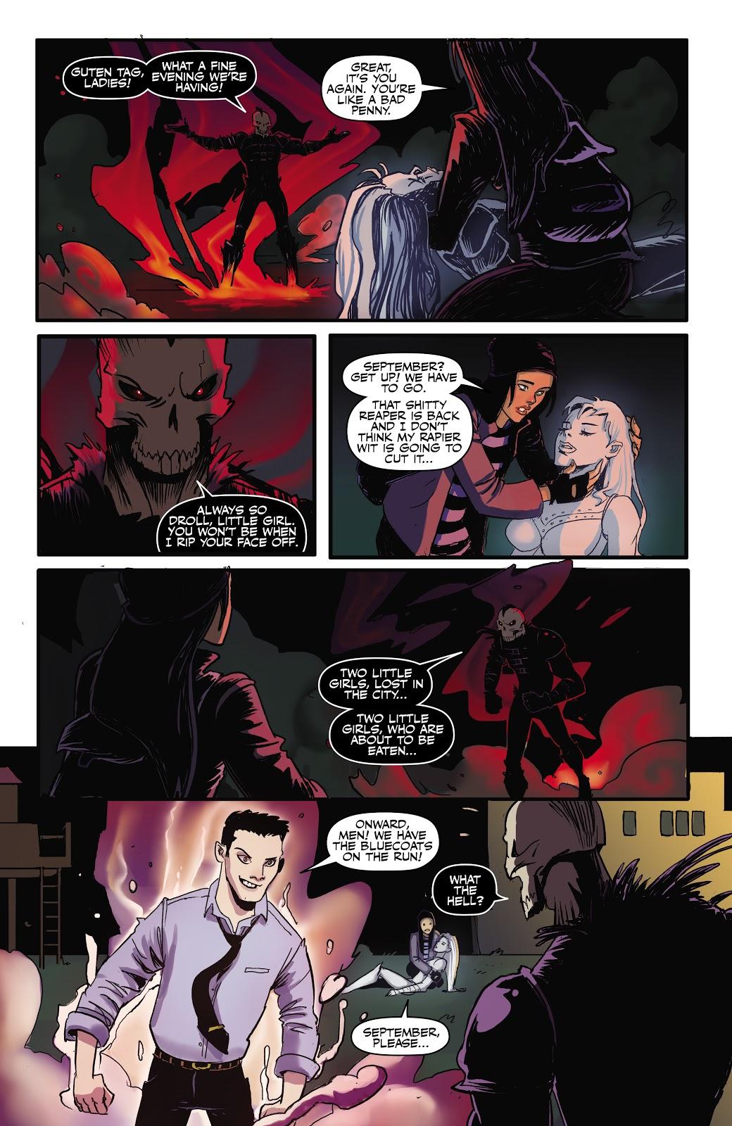 Read online September Mourning Volume 1 comic -  Issue #2 - 12