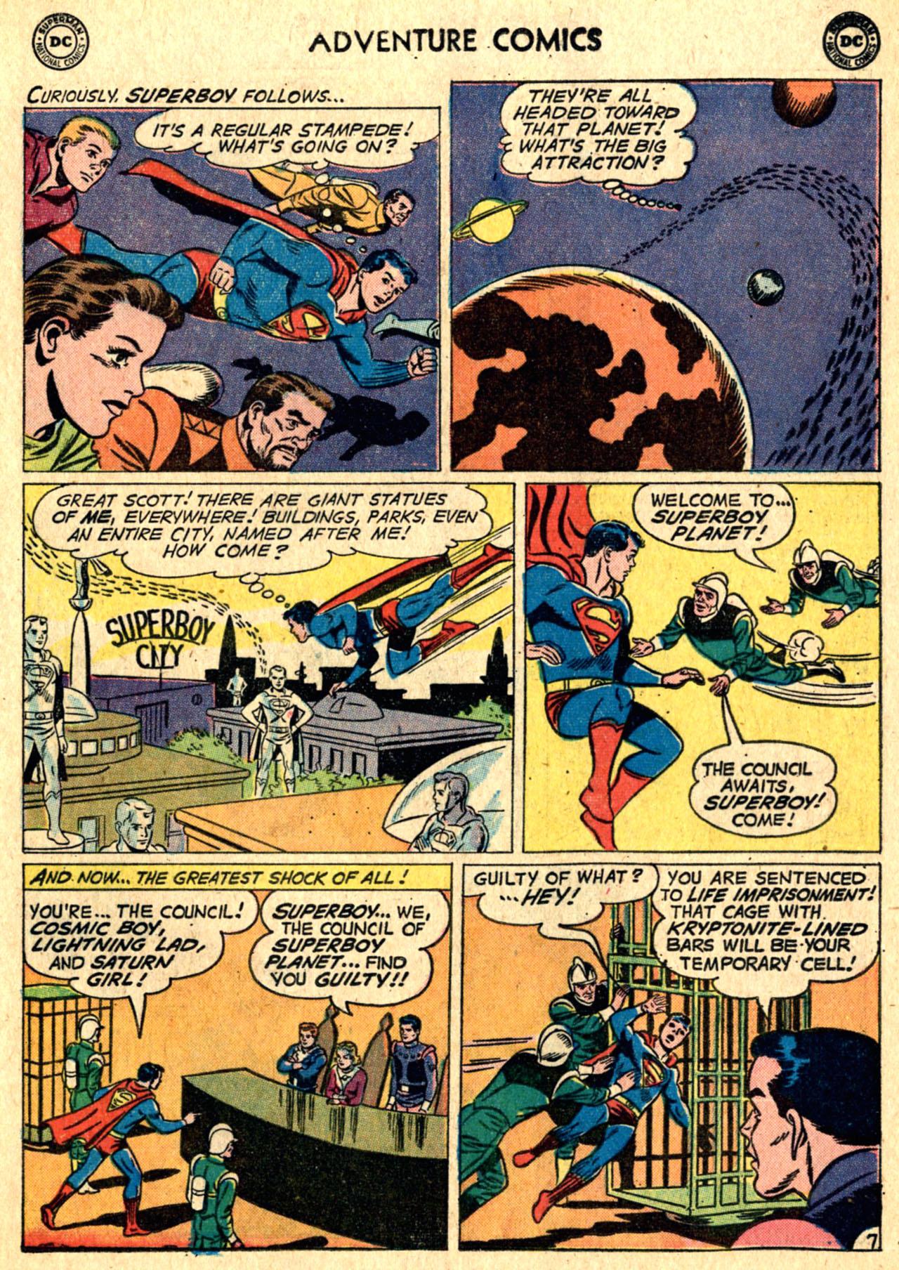 Read online Adventure Comics (1938) comic -  Issue #267 - 9