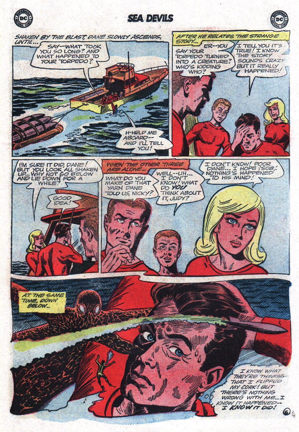 Read online Sea Devils comic -  Issue #17 - 7