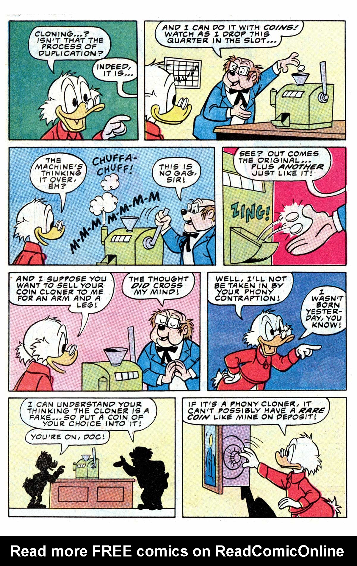 Read online Uncle Scrooge (1953) comic -  Issue #192 - 30