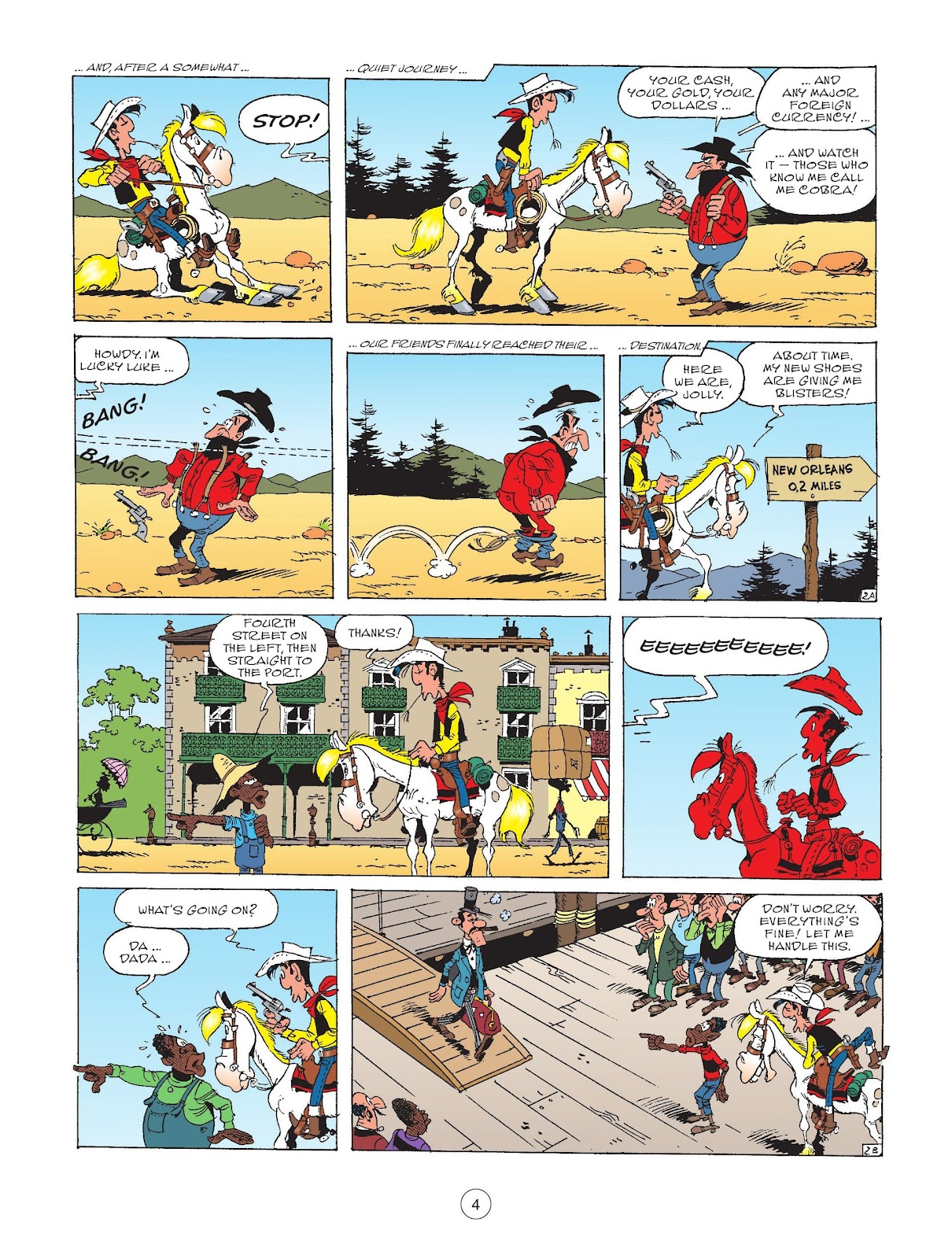 A Lucky Luke Adventure issue 72 - Page 6
