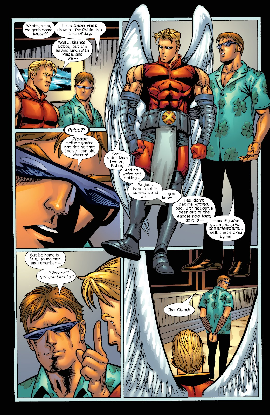 Read online X-Men: Unstoppable comic -  Issue # TPB (Part 4) - 21