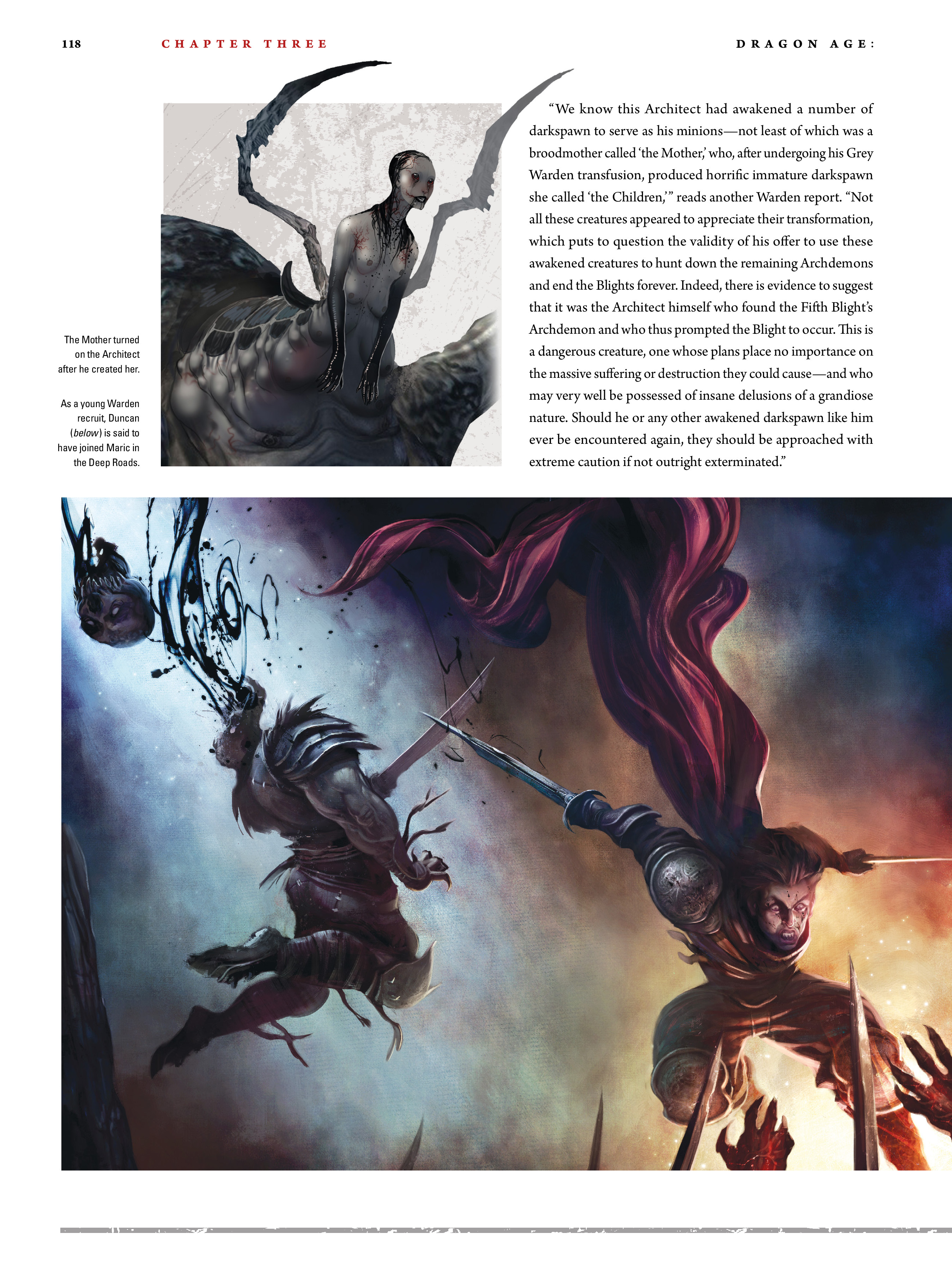 Read online Dragon Age: The World of Thedas comic -  Issue # TPB 2 - 114